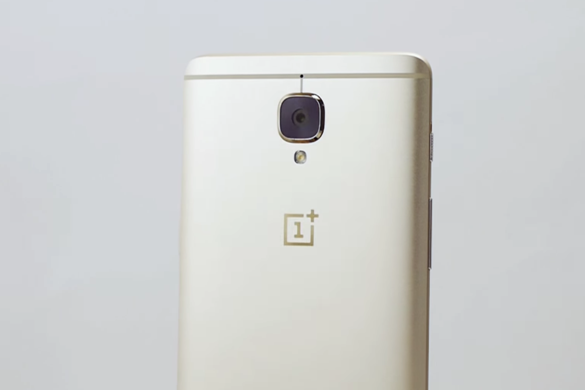 You can buy the gold OnePlus 3 tomorrow in the US
