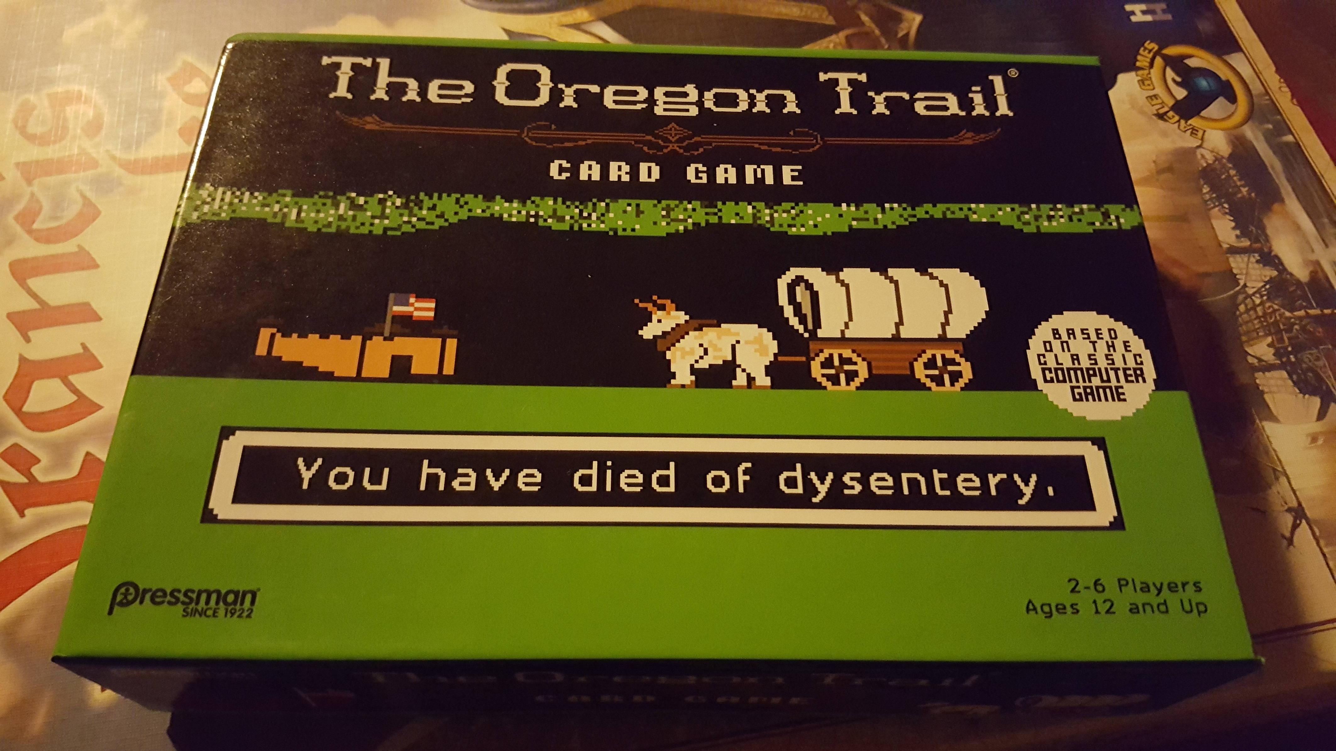 Oregon Trail card game and an adult version of Codenames found at Target (update)
