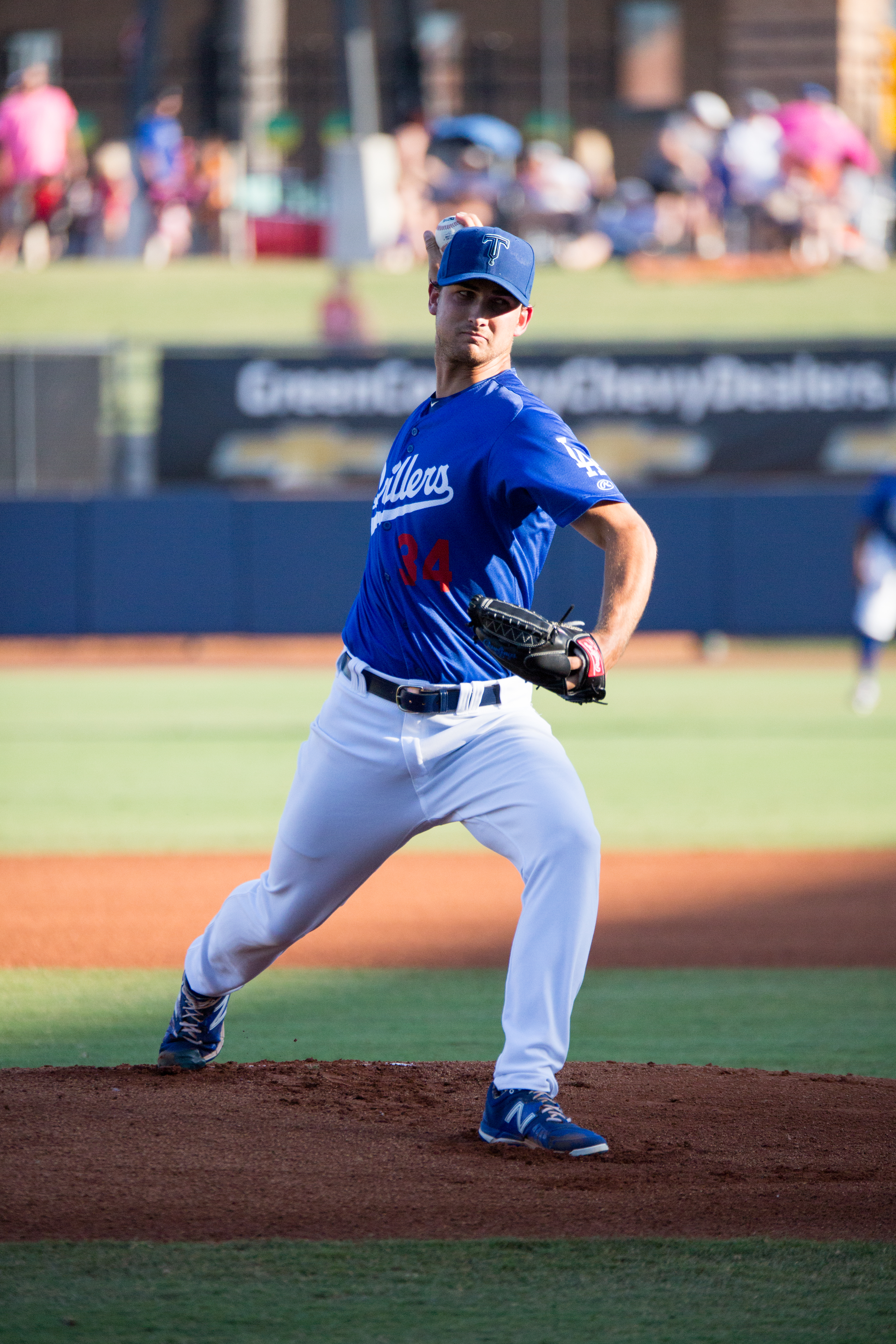 Chase De Jong leads the Texas League with 10 wins in 2016.