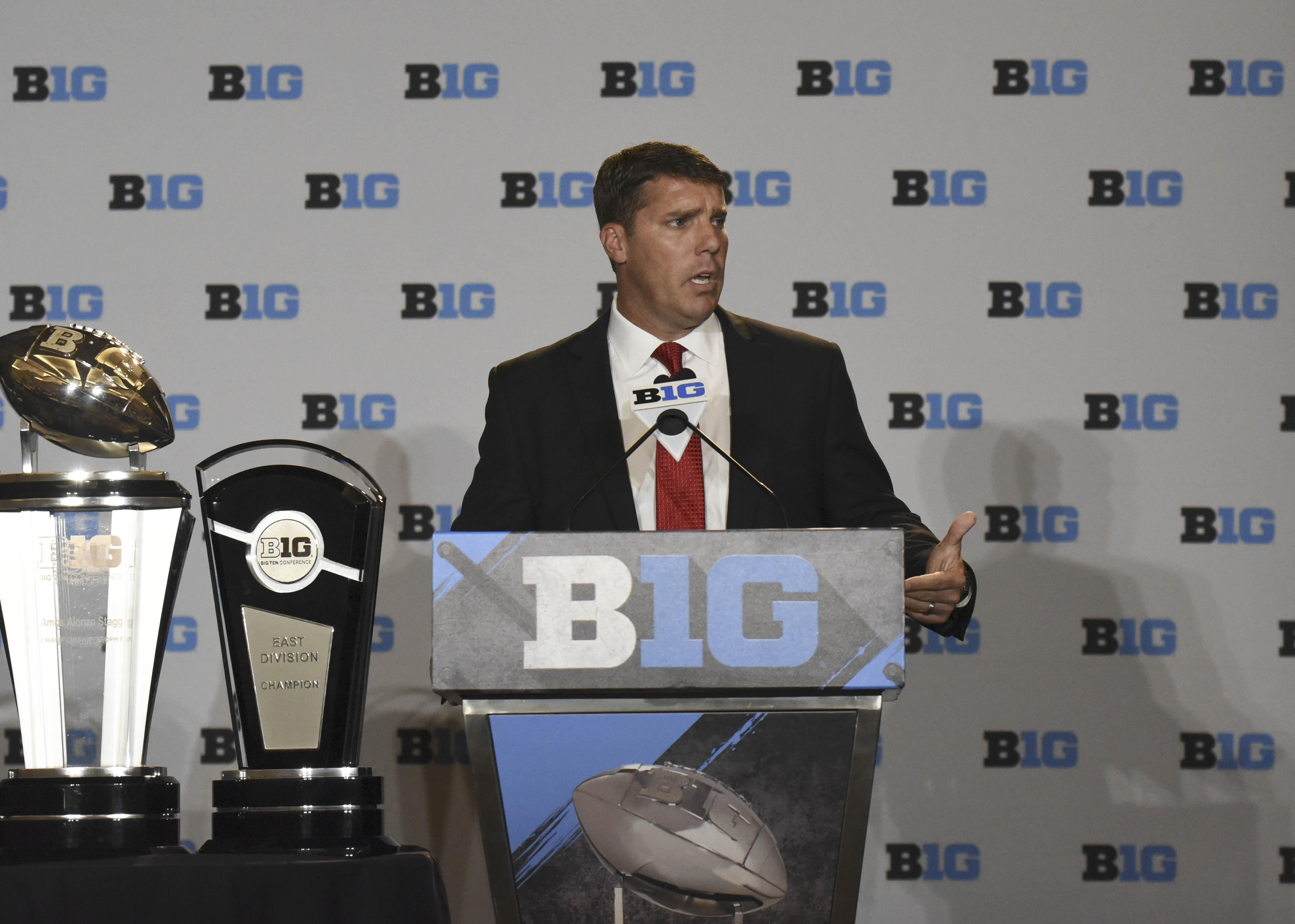 NCAA Football: Big Ten Media Day