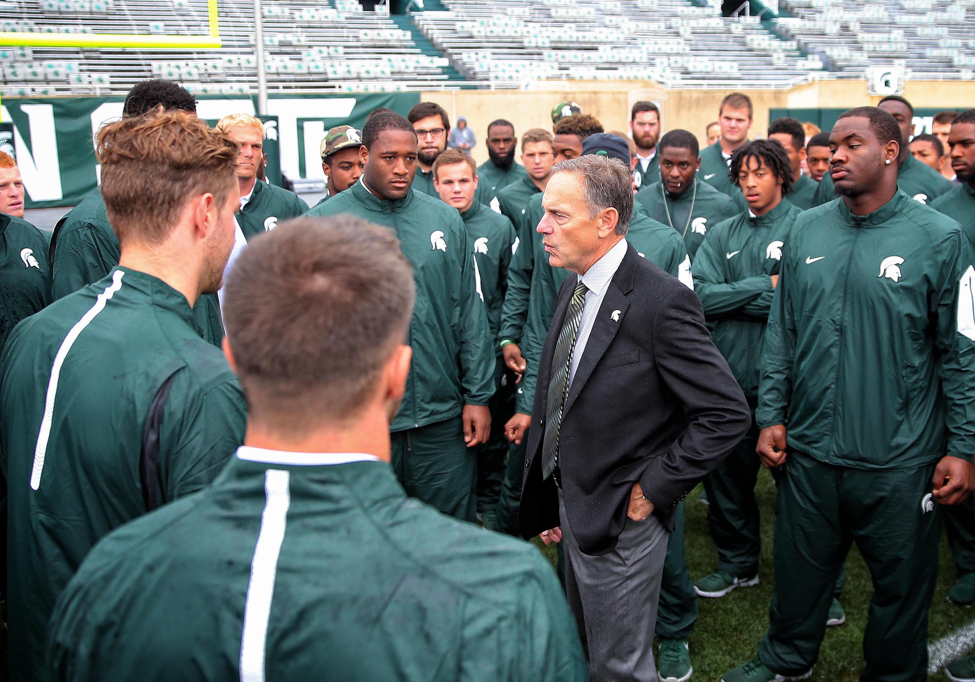 NCAA Football: Air Force at Michigan State