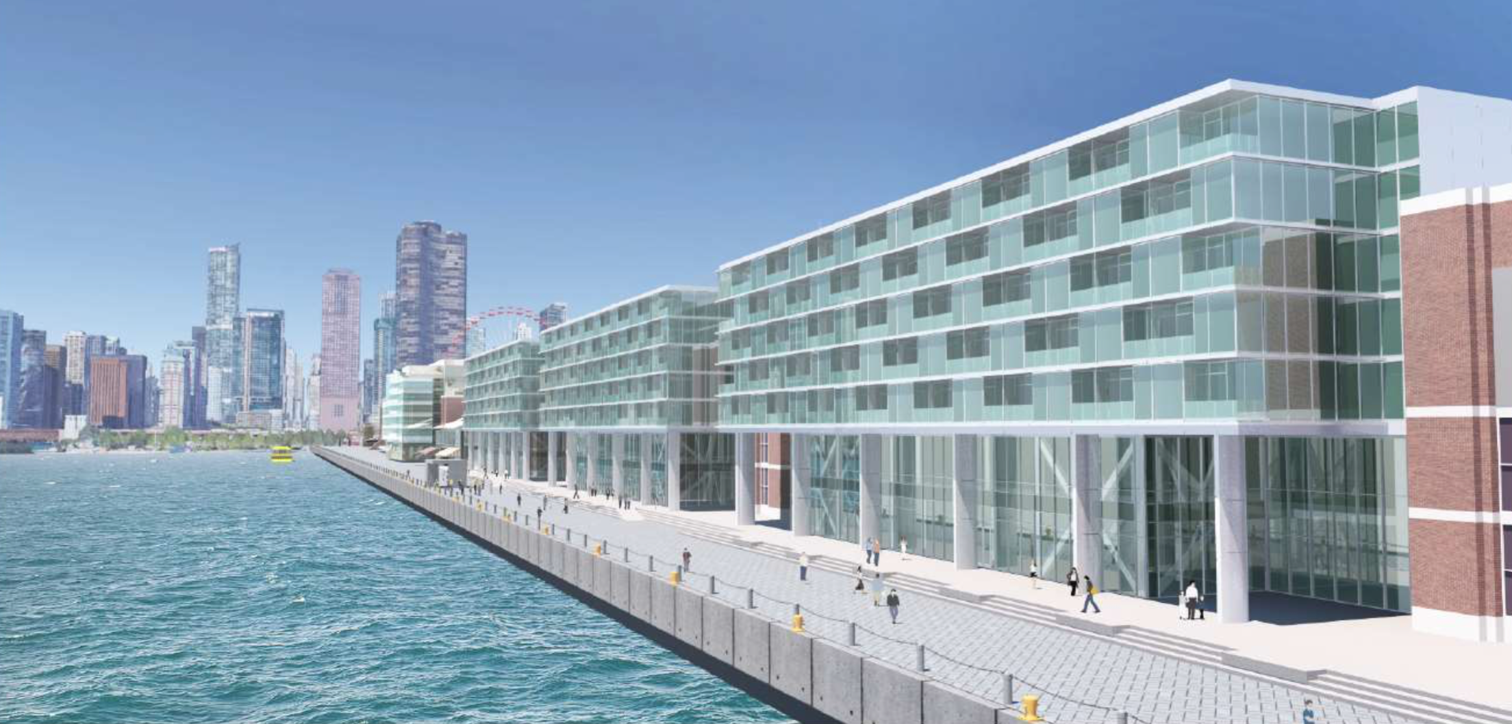 Streeterville Chicago Curbed Inside Flats Jessie Navy A Look At The Next Phase Of Pier Improvments