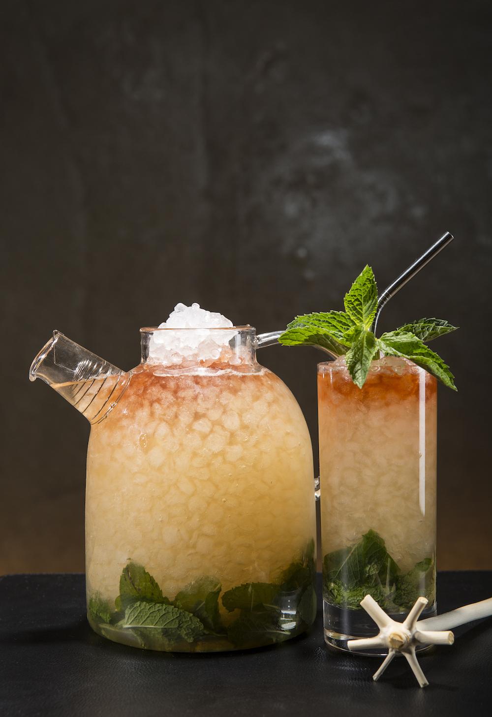 Six Photos of Cocktails at Libertine Social
