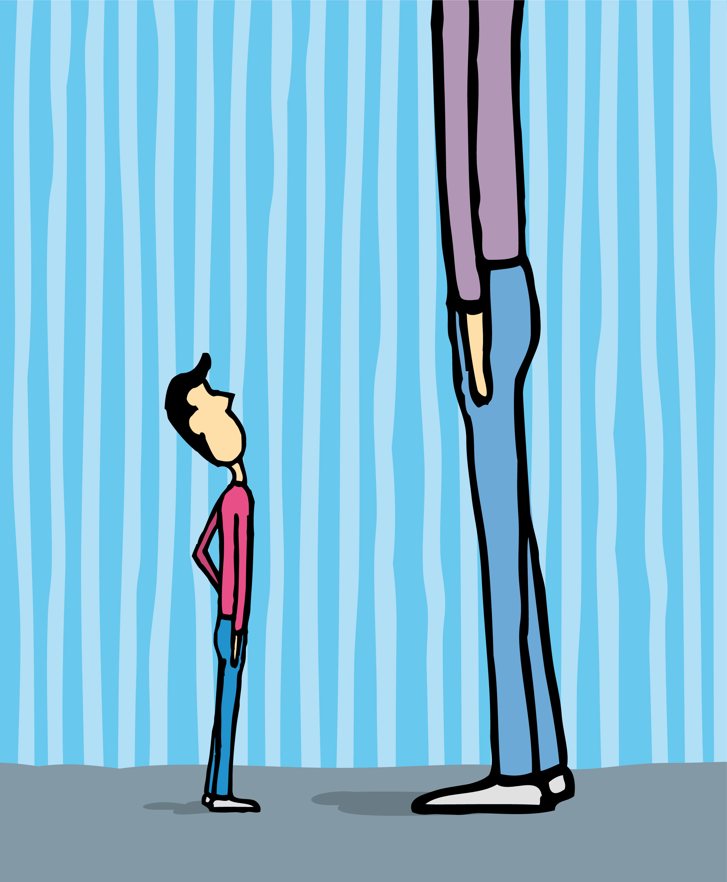 Why are Americans no longer the tallest people in the world? One theory: inequality.