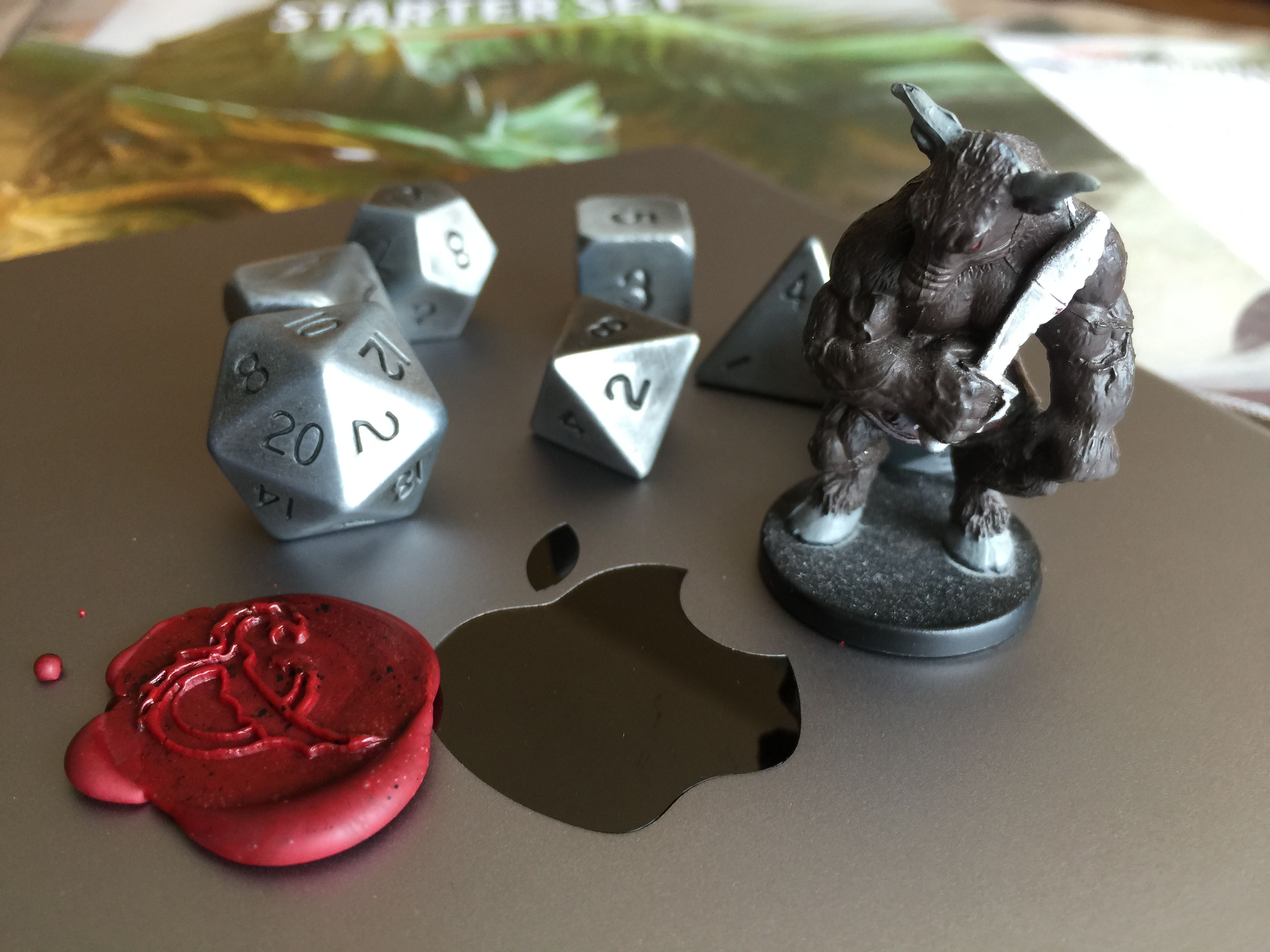 D&D on your tablet and in your browser, complete with dice and a Dungeon Master