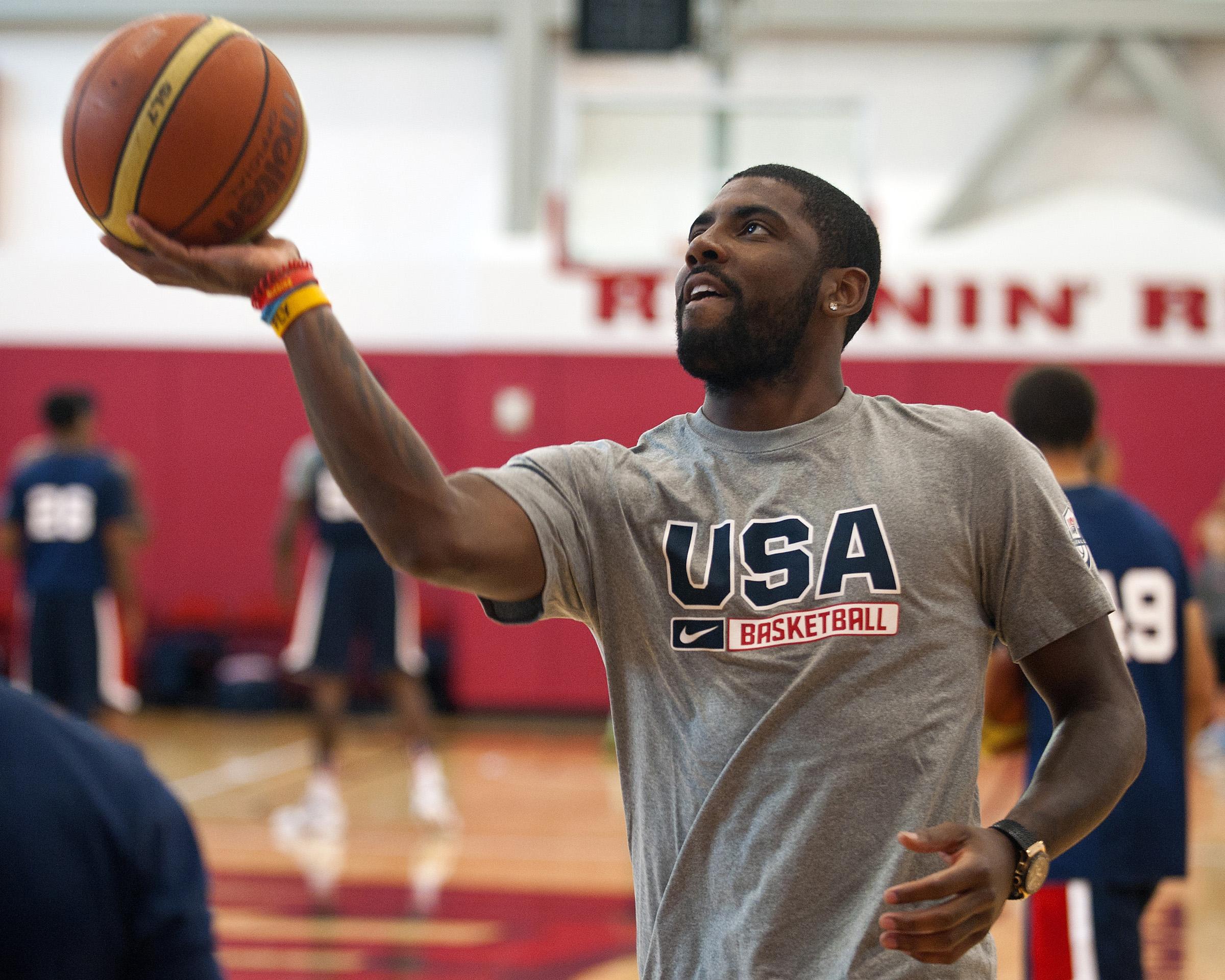 Basketball: 2015 USA Men's National Team Mini-Camp USA