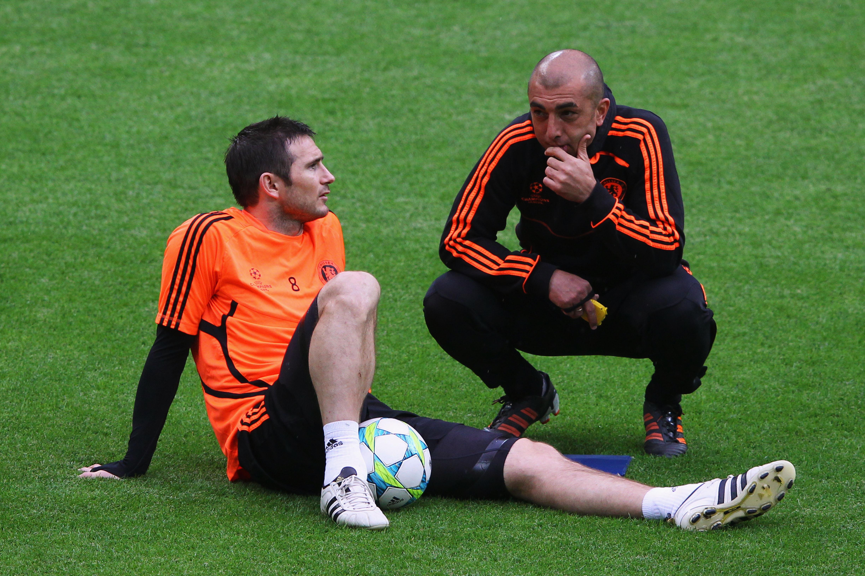 UEFA Champions League Final - Chelsea Training