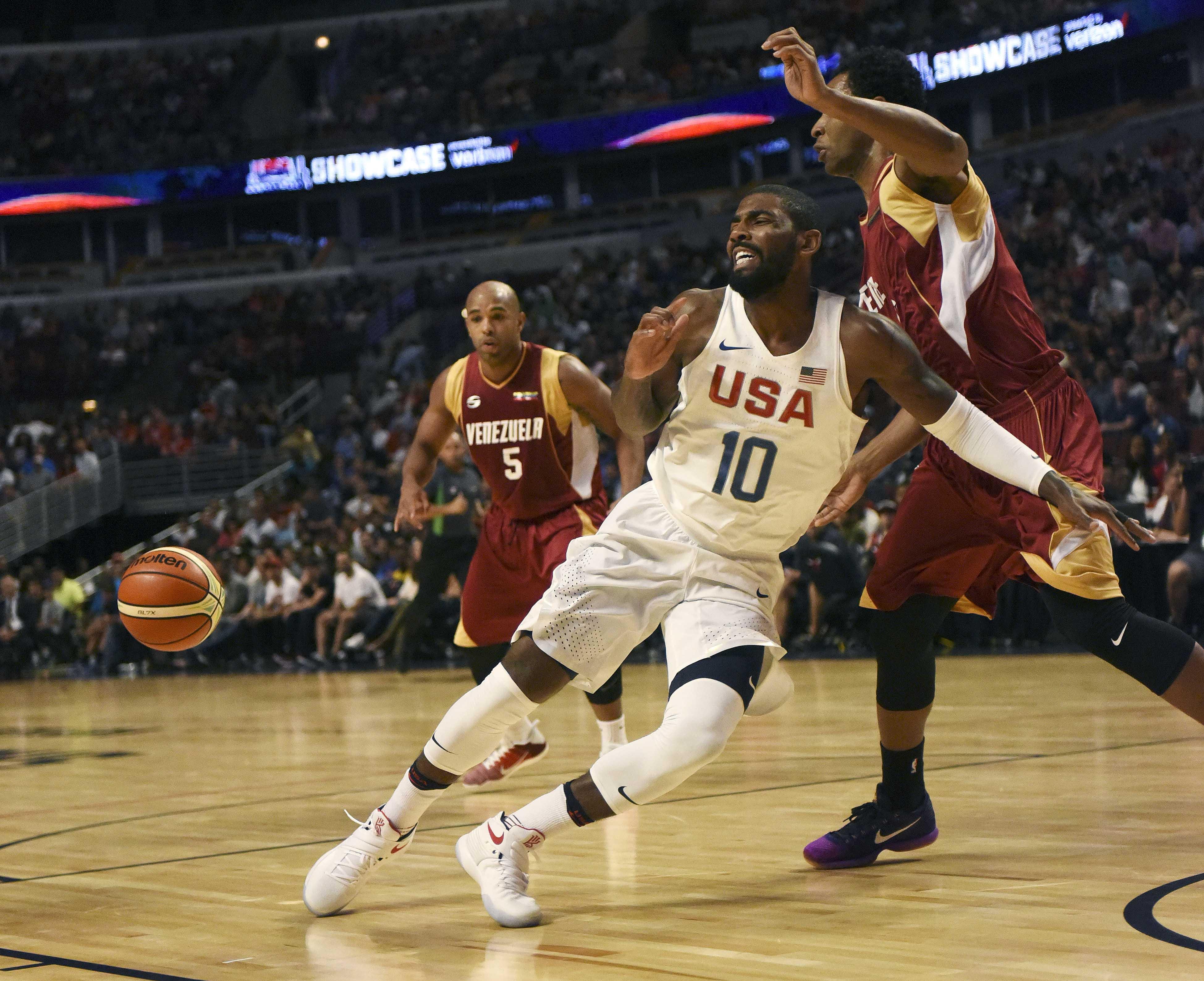 Basketball: USA Basketball Exhibition Game-Venezuela at USA