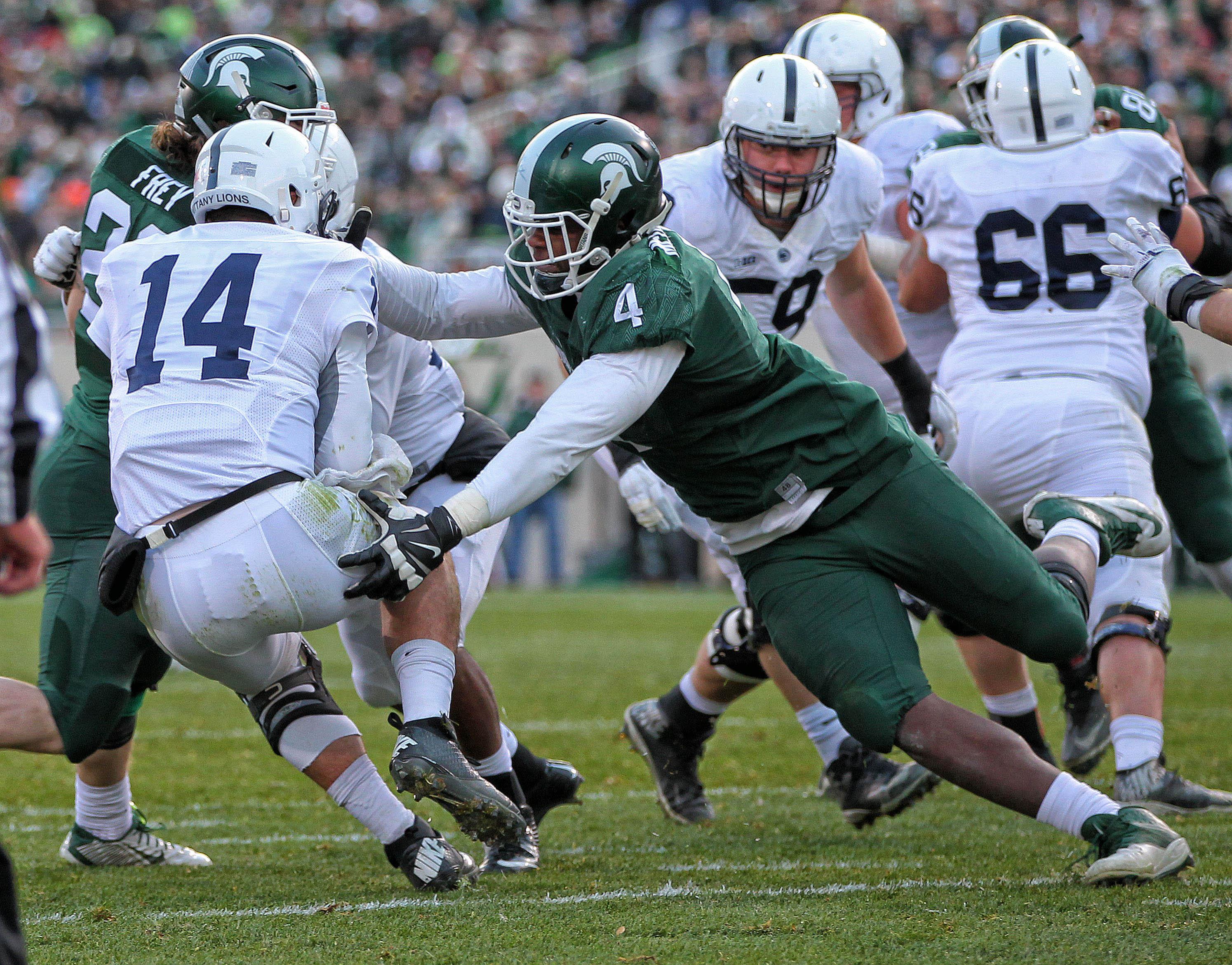 NCAA Football: Penn State at Michigan State