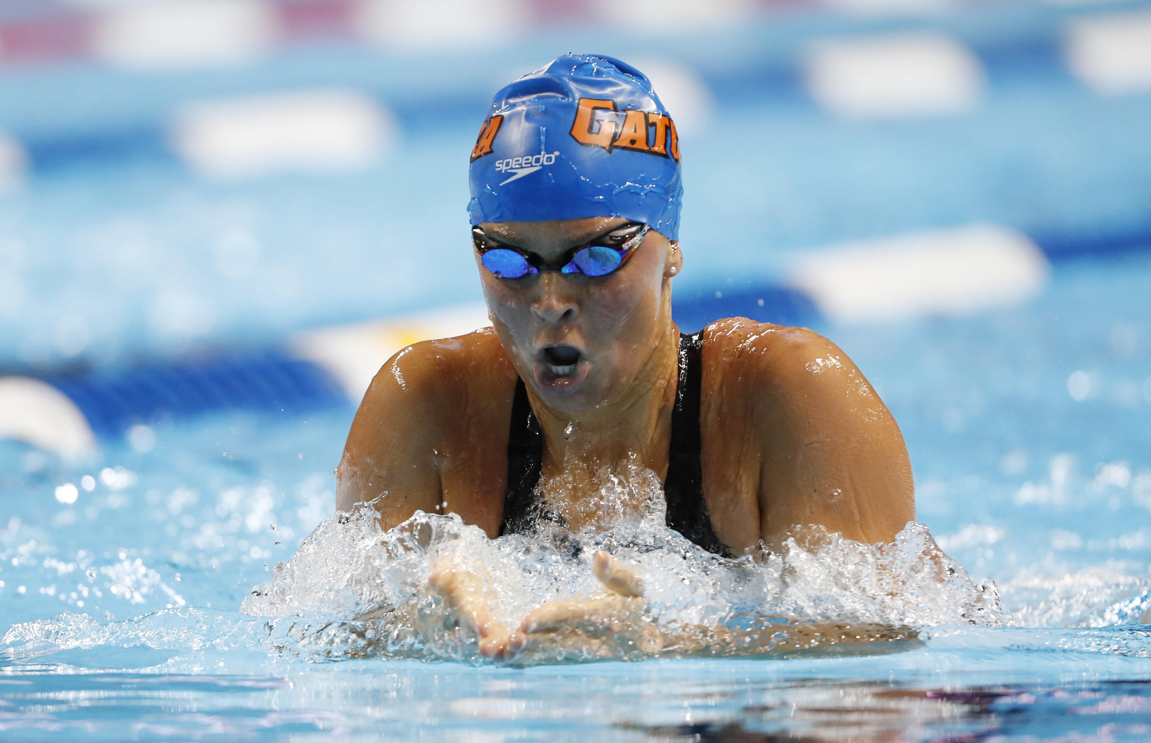 Elizabeth Beisel is back after winning the silver in women's 400m IM at the 2012 games.
