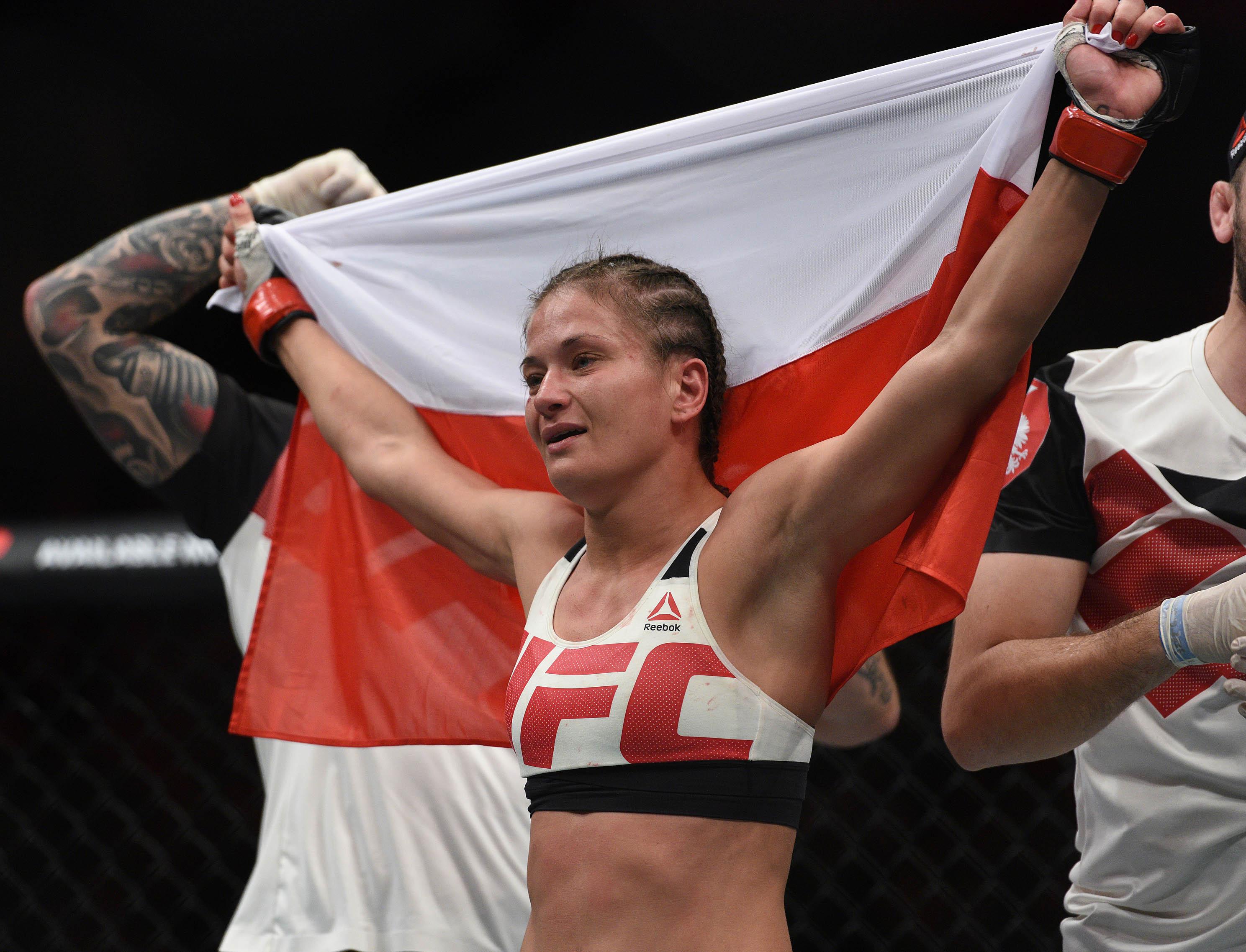 MMA: UFC Fight Night-Kowalkiewicz vs Clark