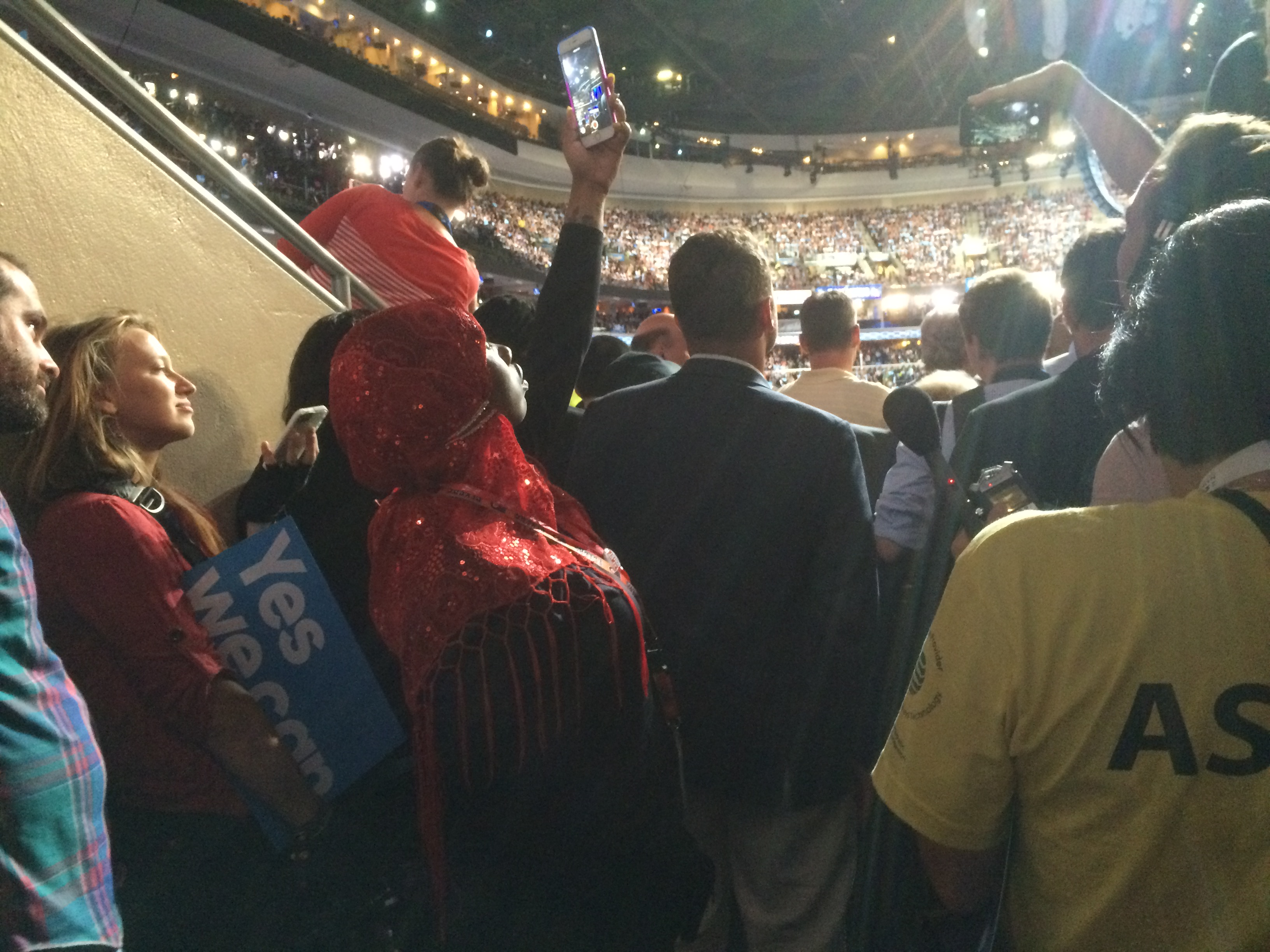 How one concession worker at the DNC saw President Obama's convention speech