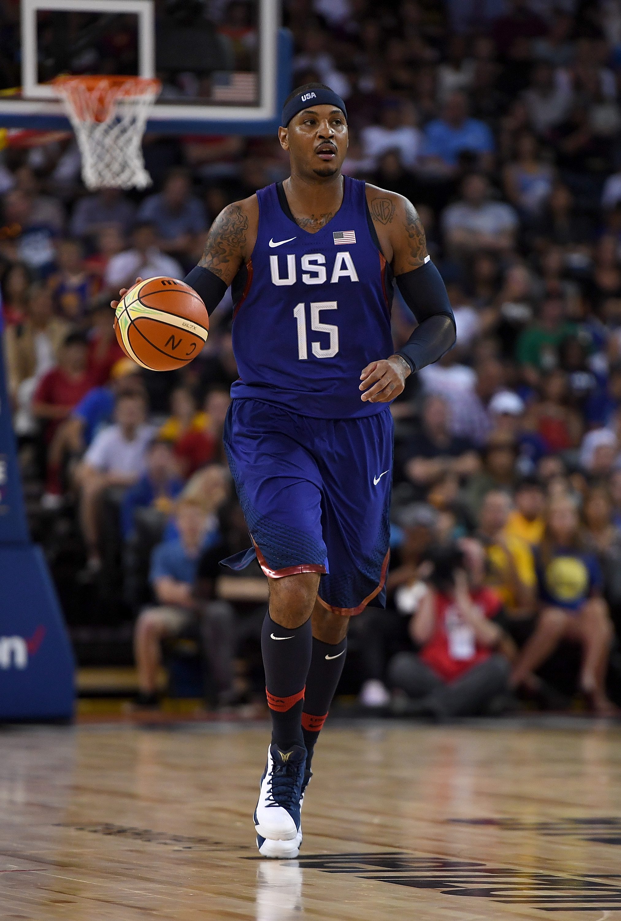 USA vs. Nigeria 2016 final score: Americans roll, 110-66, in last exhibition before Rio Olympics