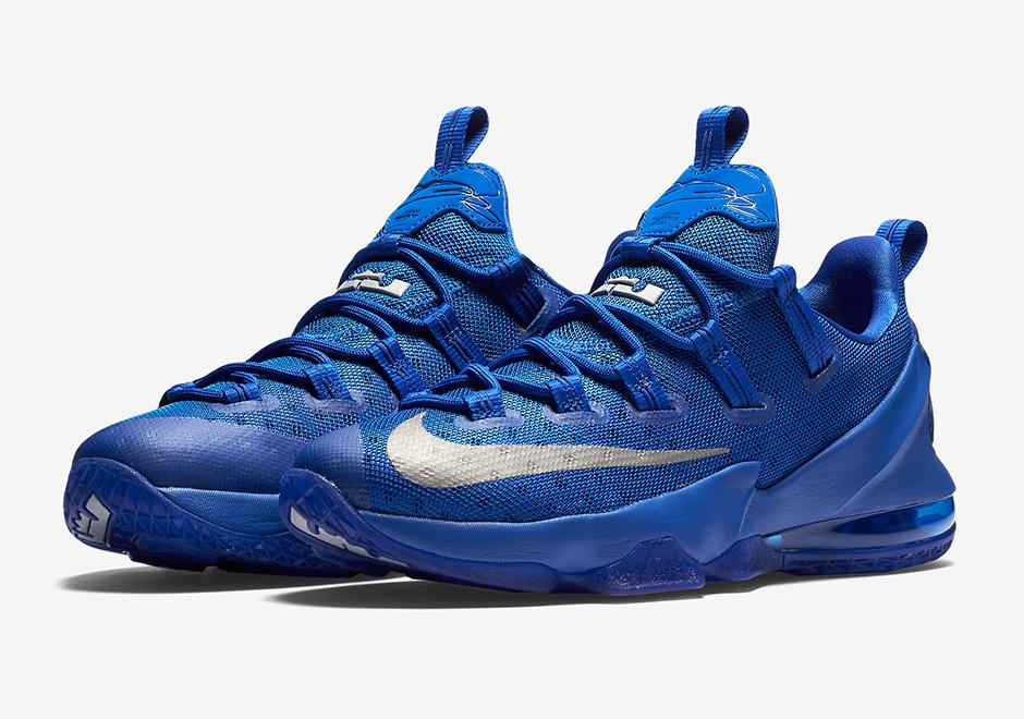 "separation shoes cd2c1 b5641 Cavs Kicks  Nike LeBron 13 Low ""Game Royal"""