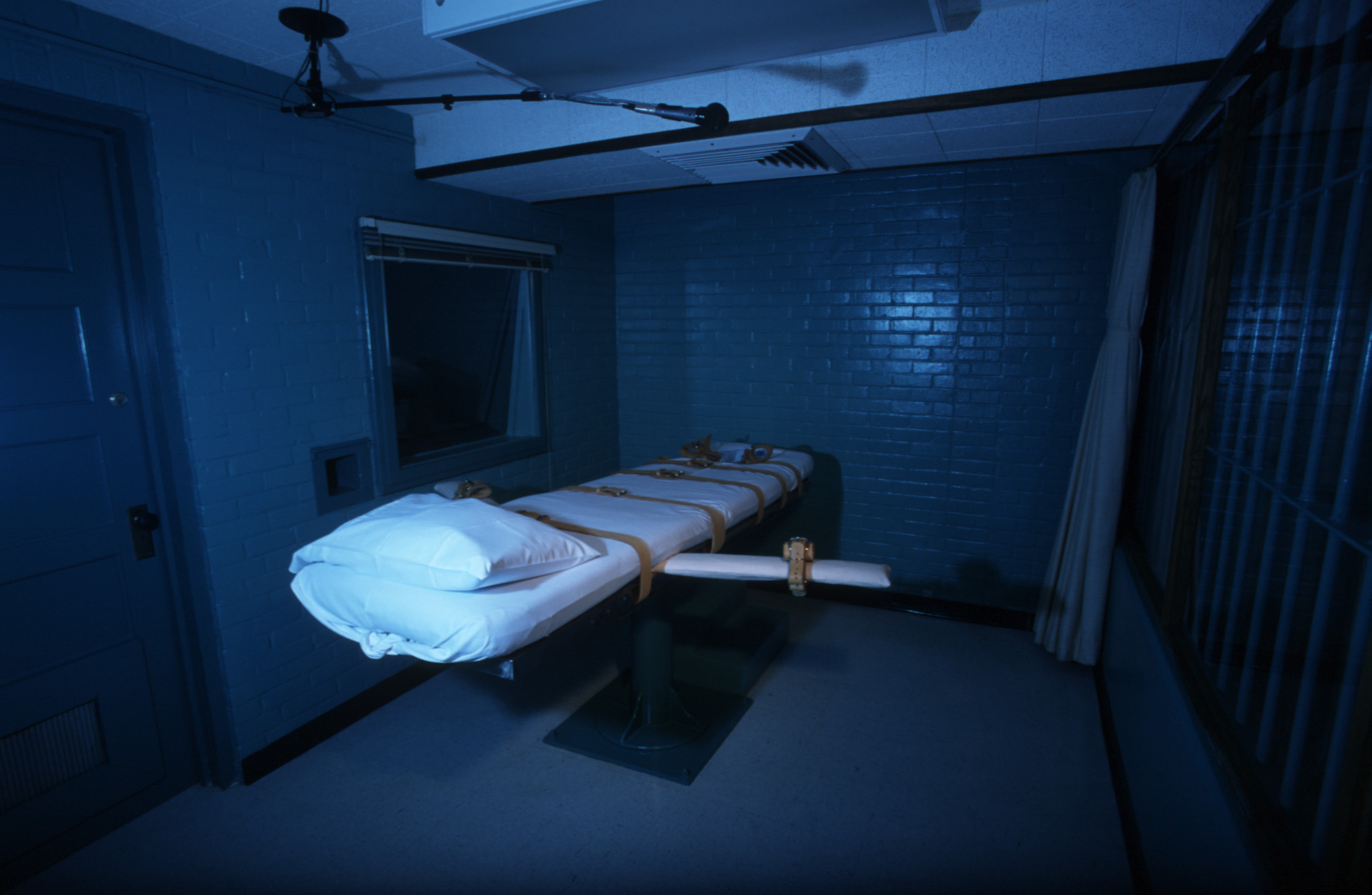 A US death chamber.