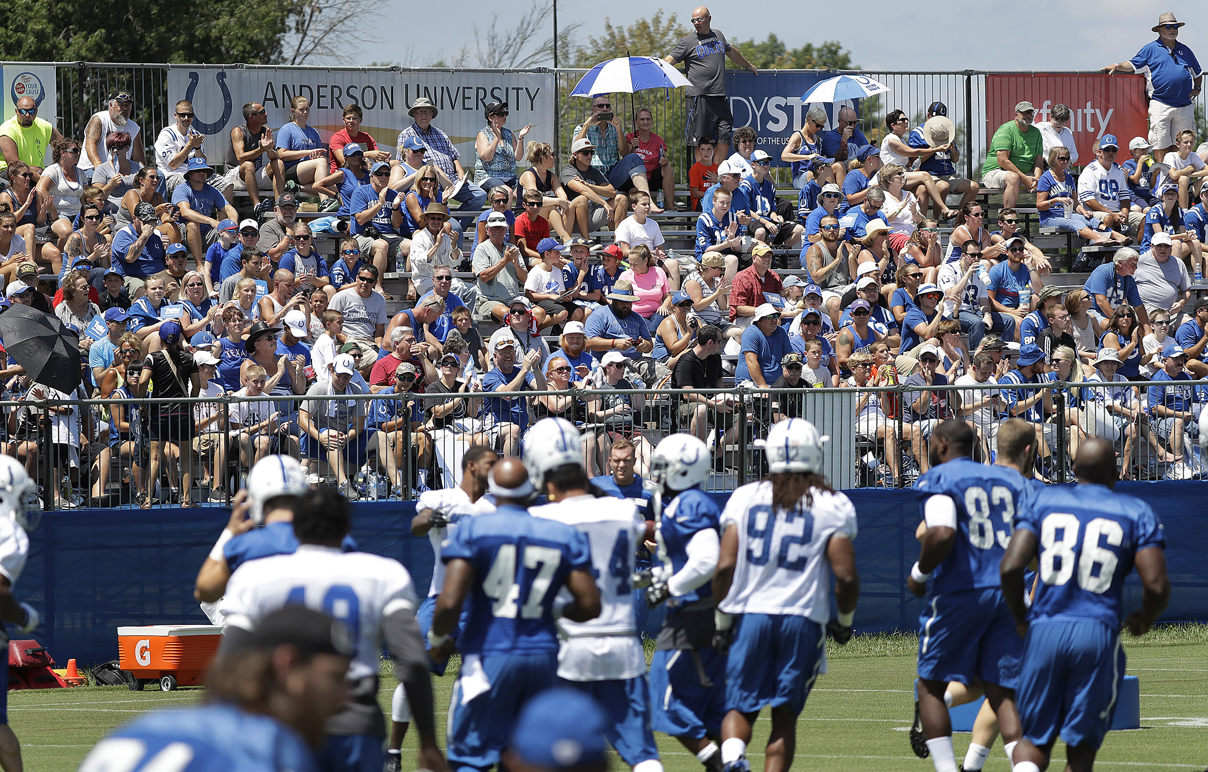 NFL: Indianapolis Colts-Training Camp