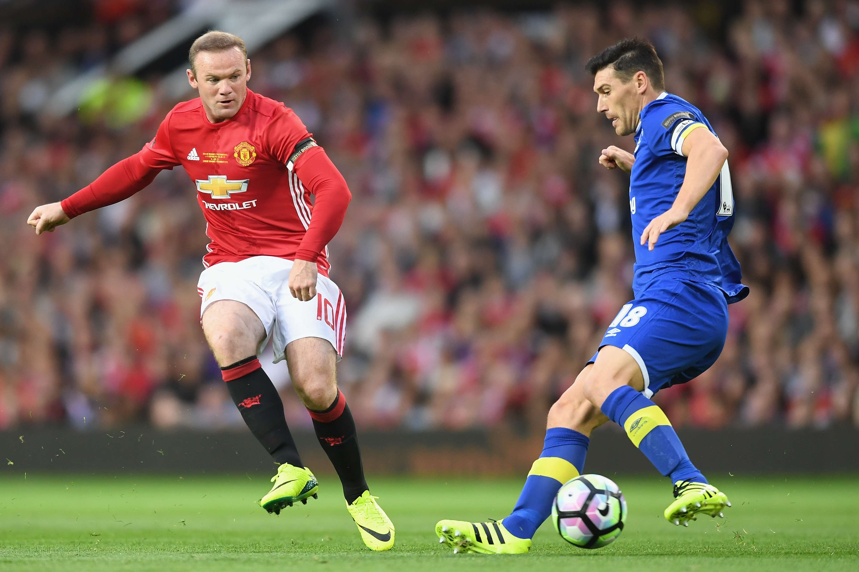Wayne Rooney Testimonial: Manchester United v Everton