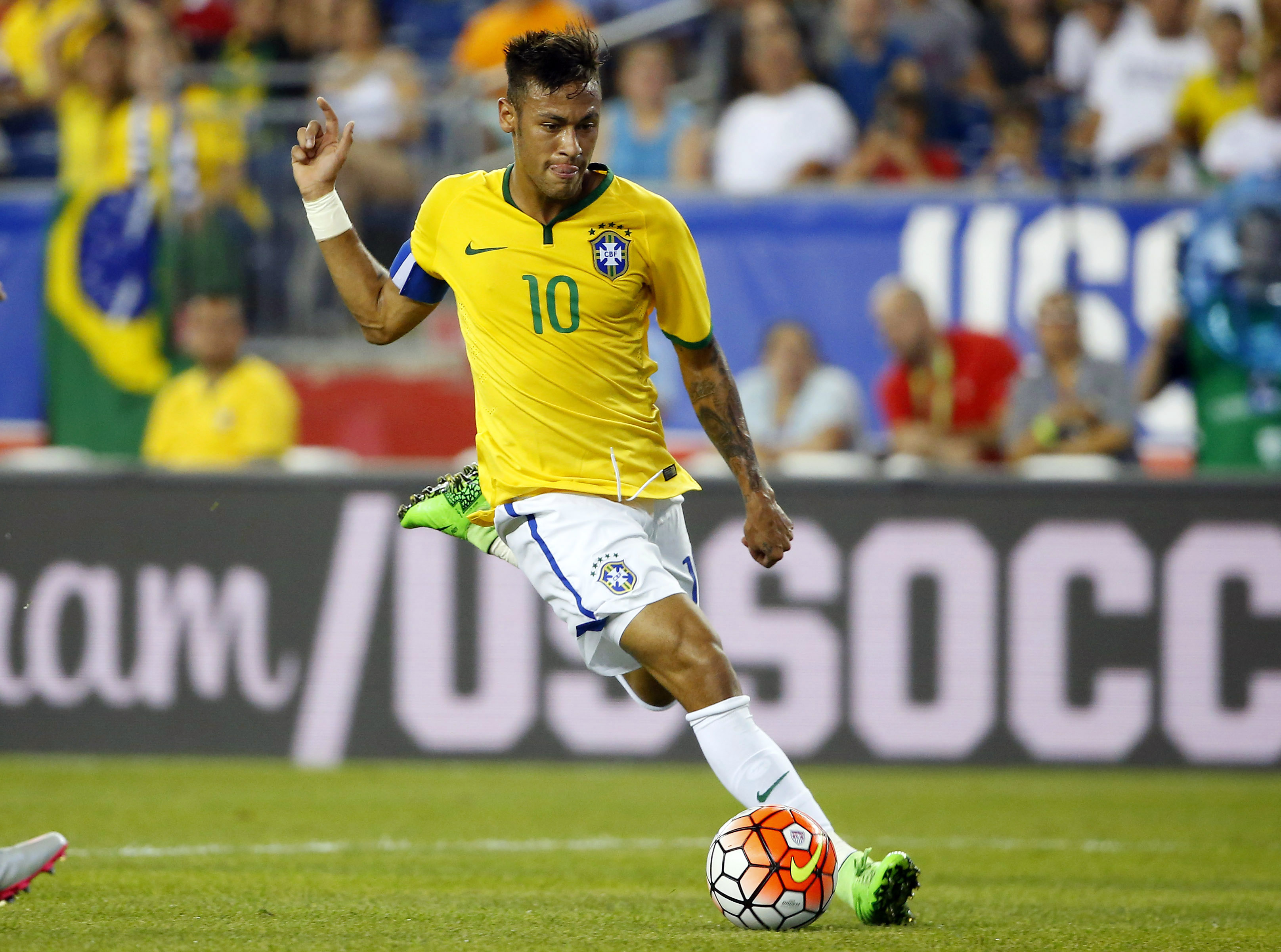 All eyes are on Neymar as Brazil looks to end their Gold Medal drought.