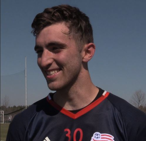 Matt Turner kept a clean sheet against the Rhinos playing on loan for Richmond Kickers on Wednesday