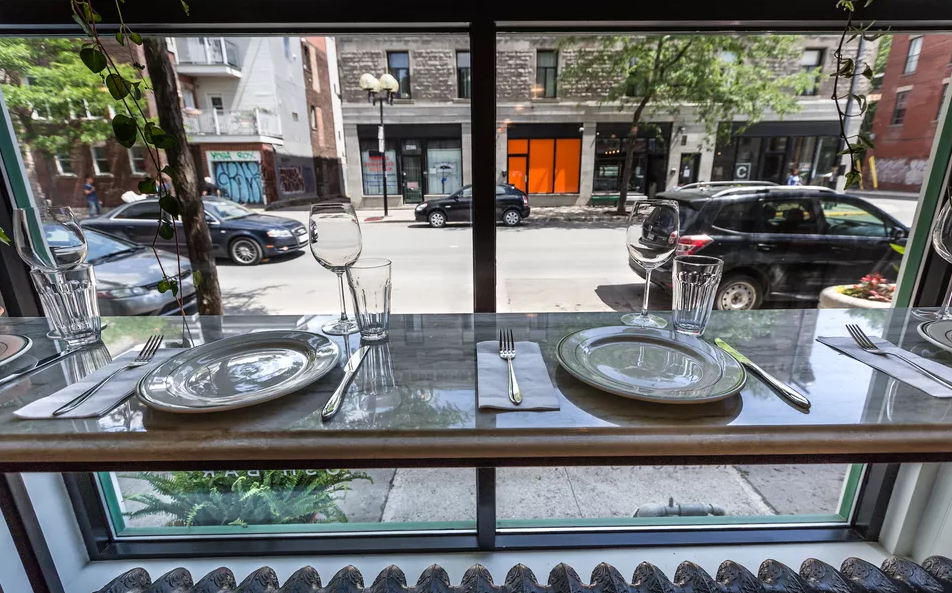 The view from a prime seat at Arthur's. Photo by Randall Brodeur