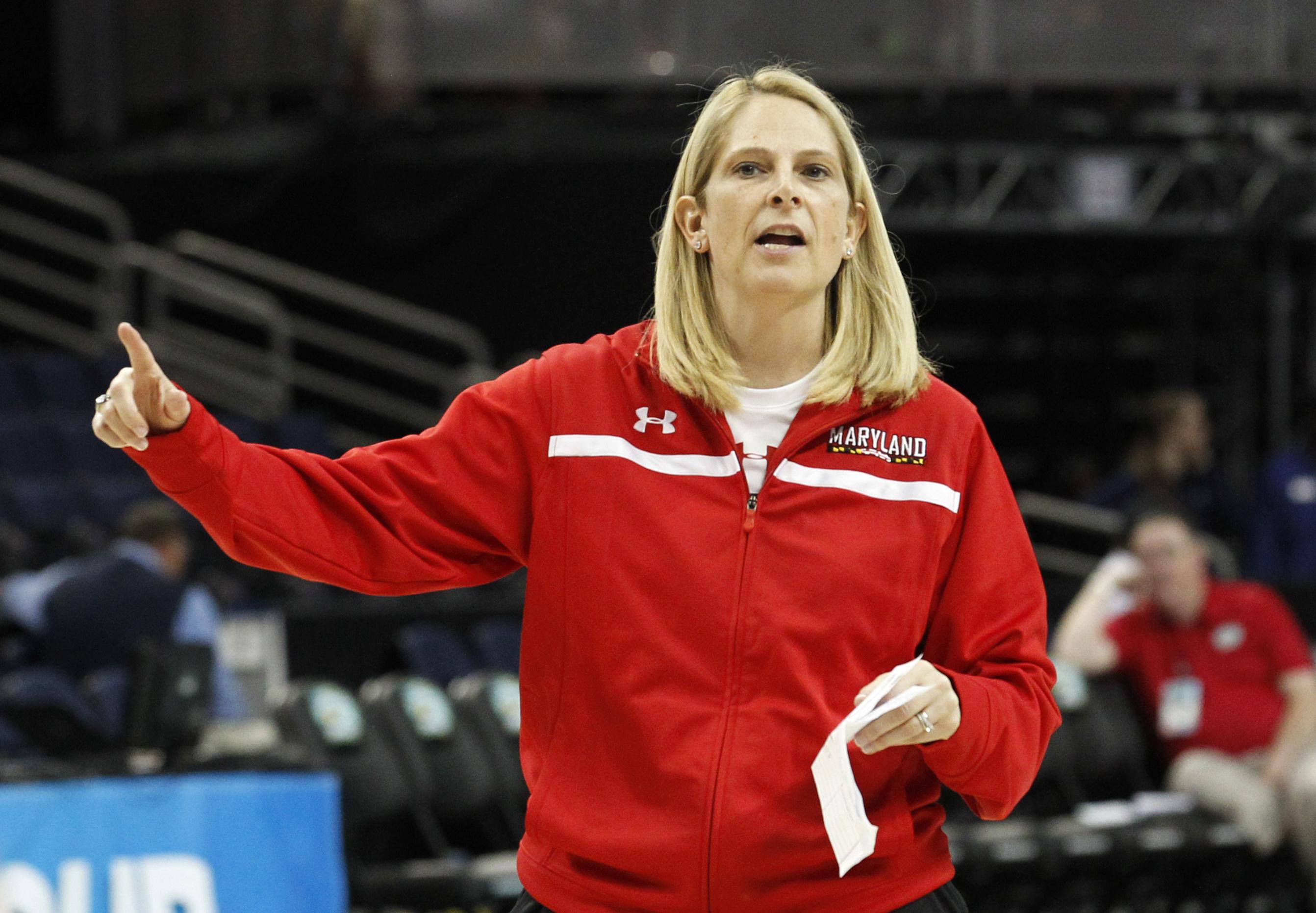 NCAA Womens Basketball: Practice-Maryland