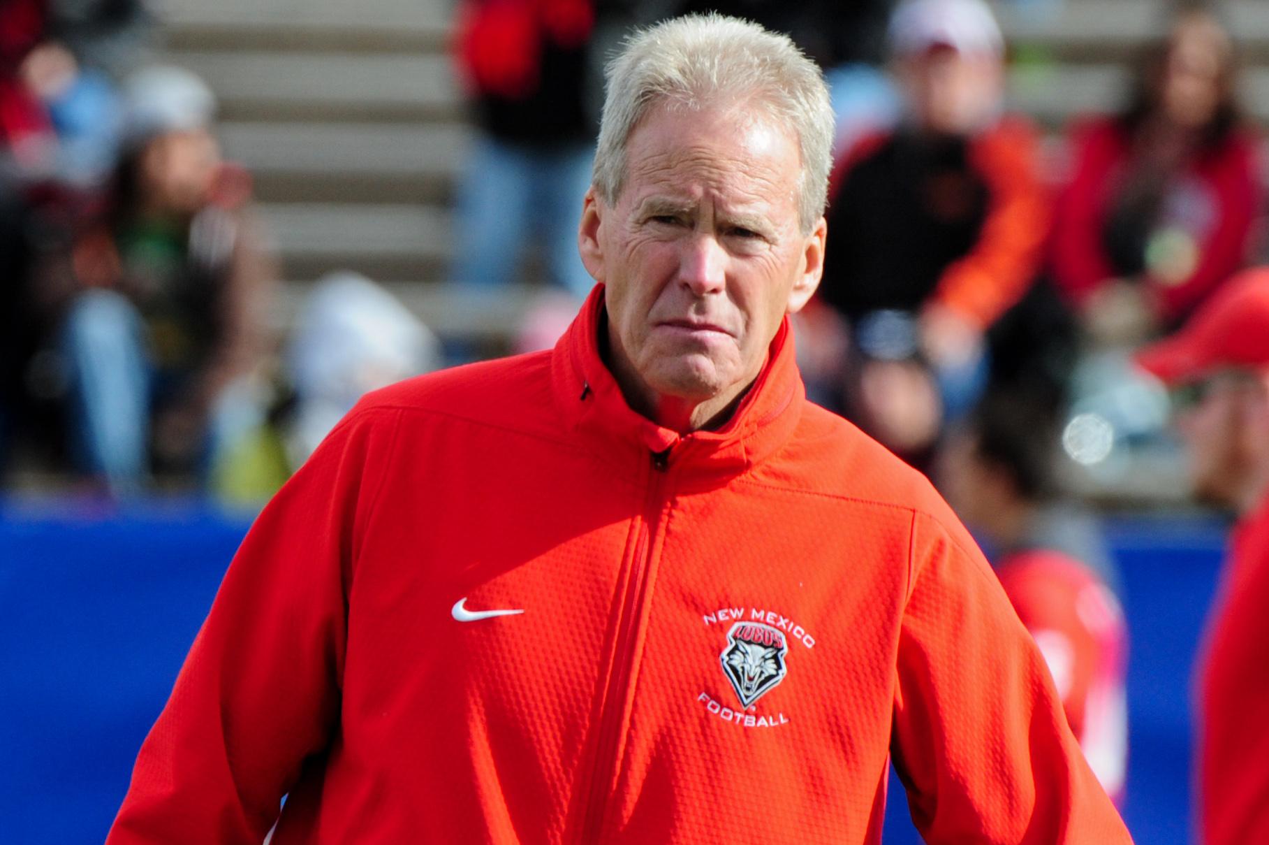 UNM coach Bob Davie readies for another season