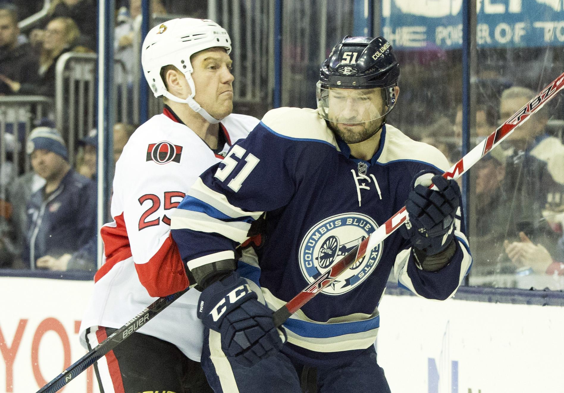 NHL: Ottawa Senators at Columbus Blue Jackets