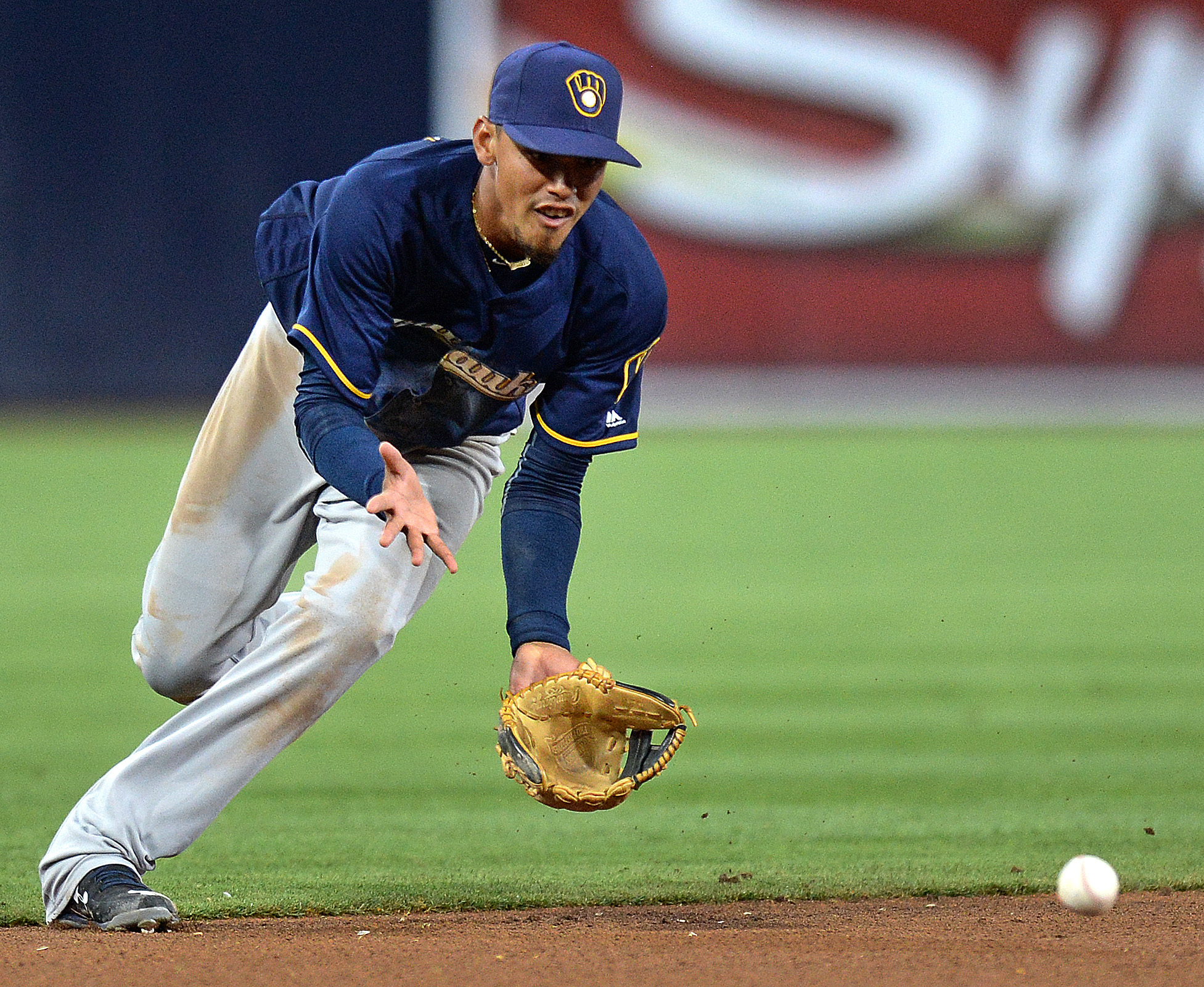 Orlando Arcia is the Mikwaukee Brewers' top prospect.