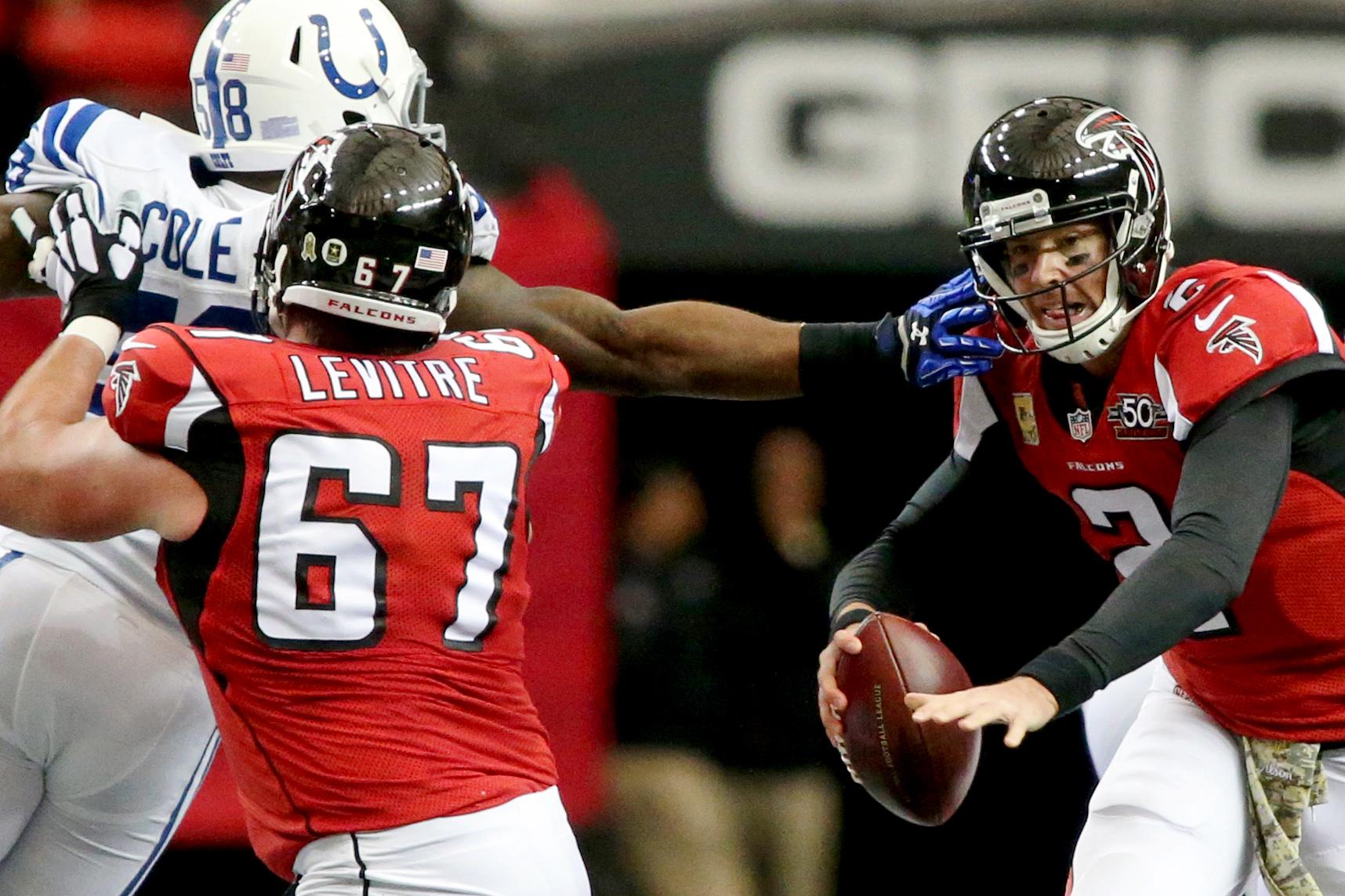 NFL: Indianapolis Colts at Atlanta Falcons