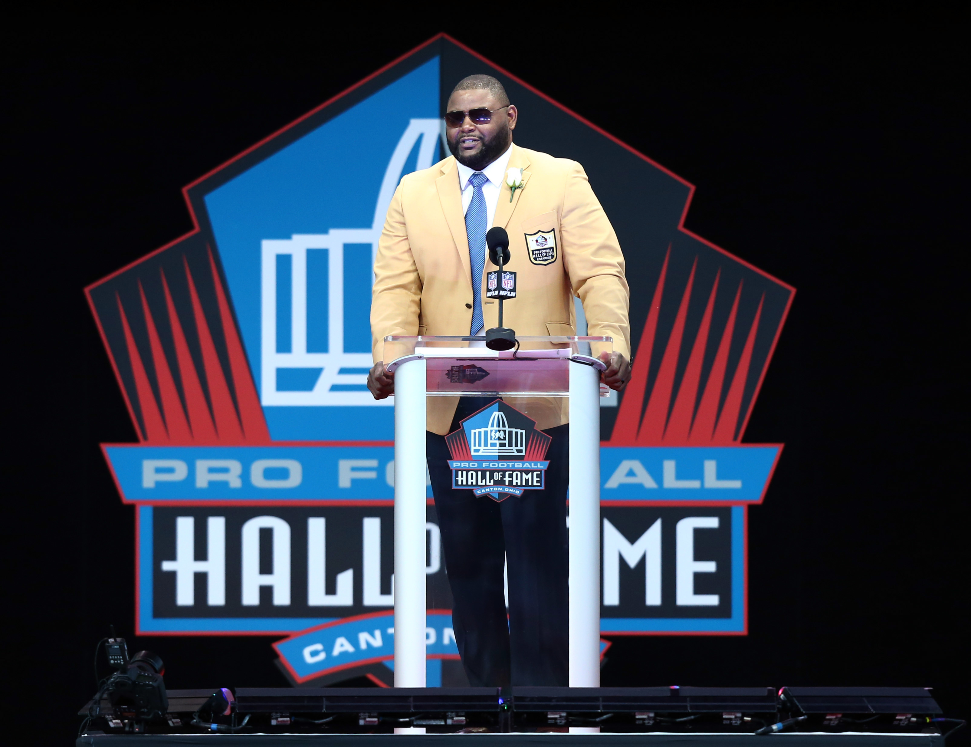Former St. Louis Rams OT Orlando Pace