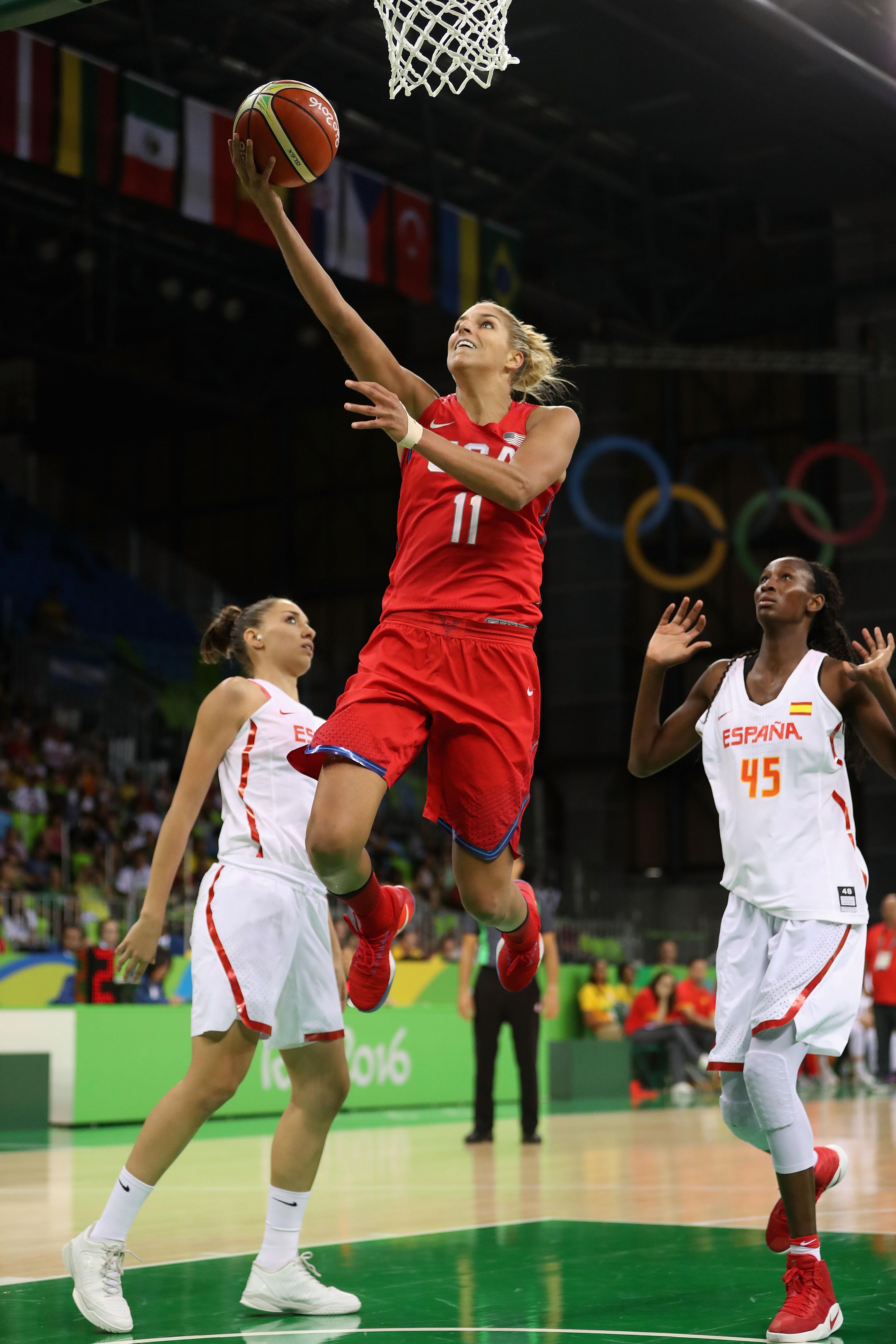 Spain v United States of America - Women's Basketball - Olympics: Day 3