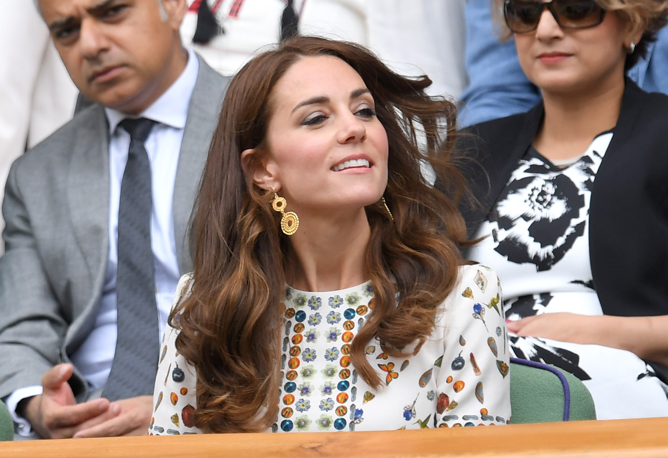 Kate Middleton, Duchess of Cambridge, at Wimbledon 2016