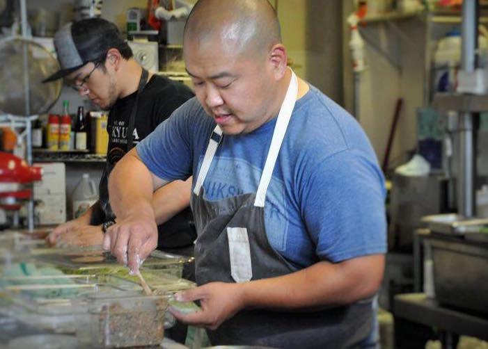 Danwei Canting chef Kyo Koo at work
