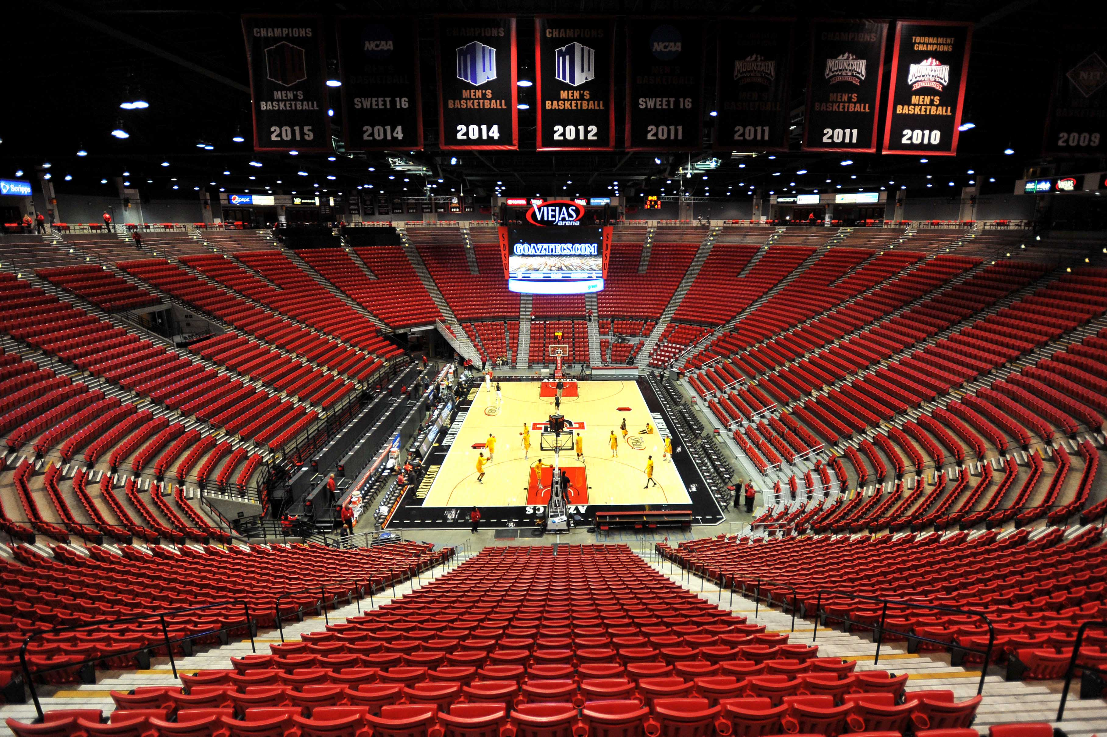 NCAA Basketball: Wyoming at San Diego State
