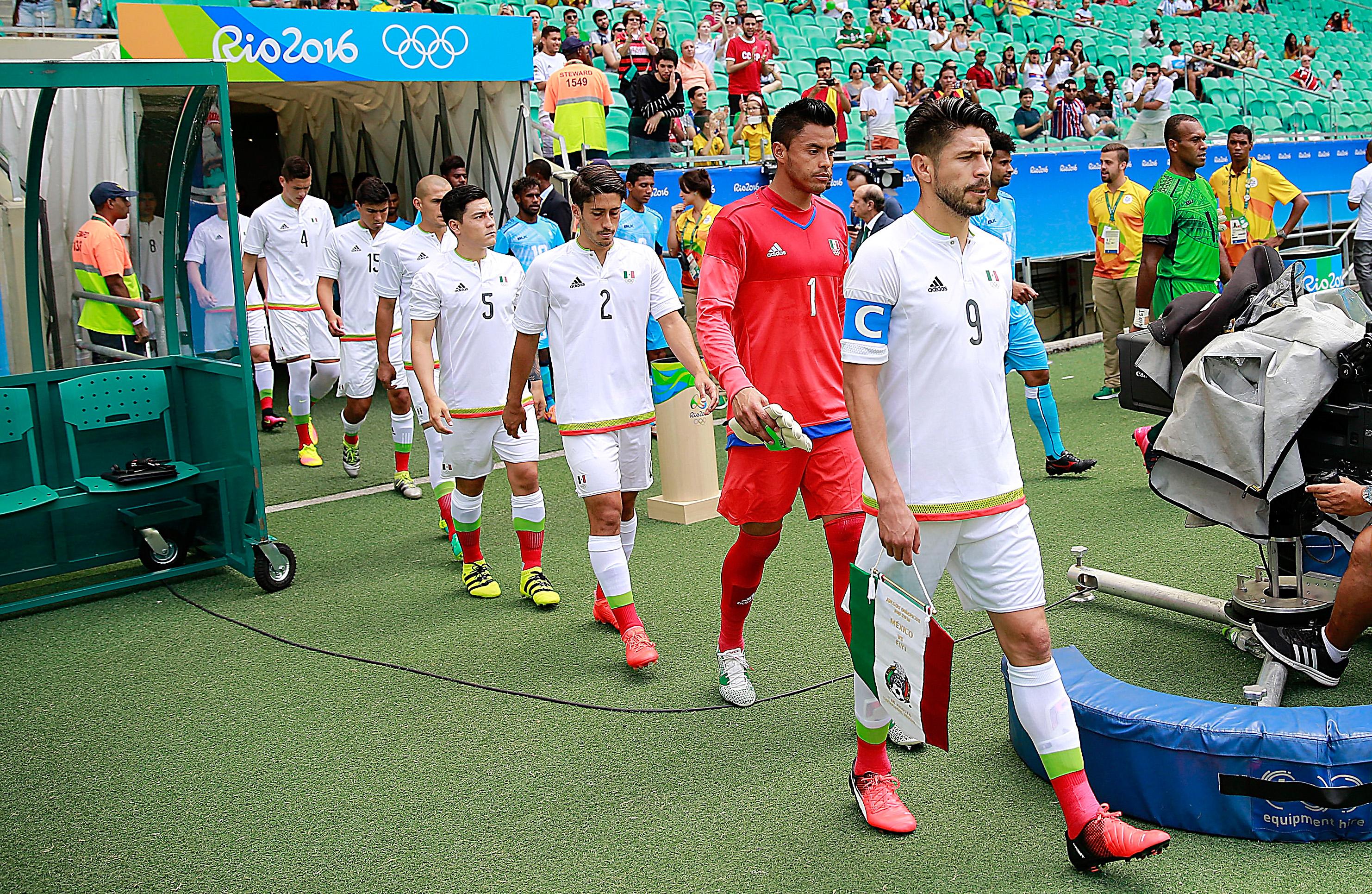 Fiji v Mexico: Men's Football - Olympics: Day 2