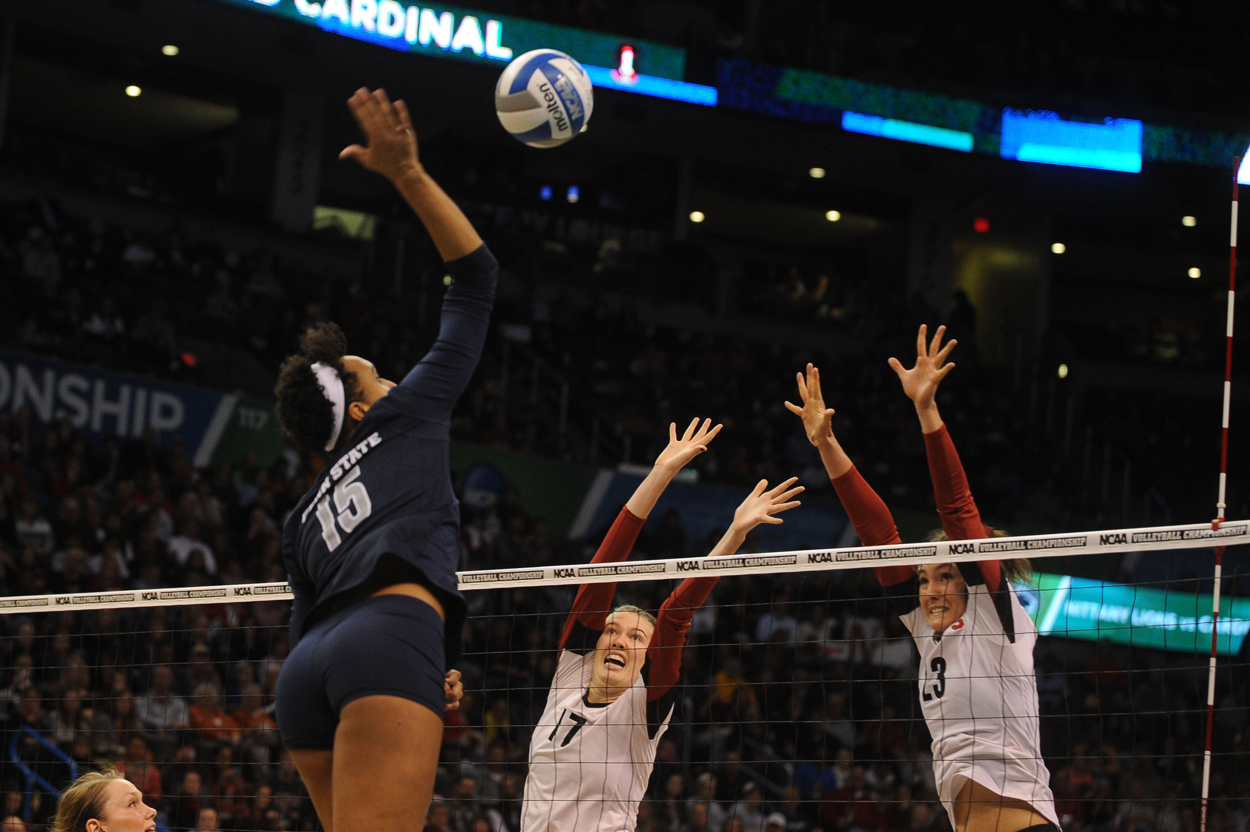 NCAA Volleyball: Women's Volleyball Championship-Stanford vs Penn State
