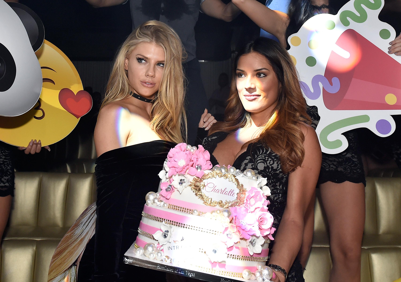 Charlotte McKinney Celebrates Birthday At Encore Beach Club And Intrigue Nightclub At Wynn Las Vegas