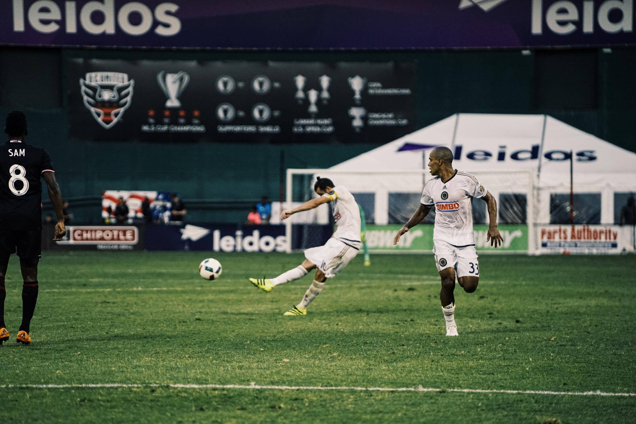 Tranquillo Barnetta lines up to take a free kick