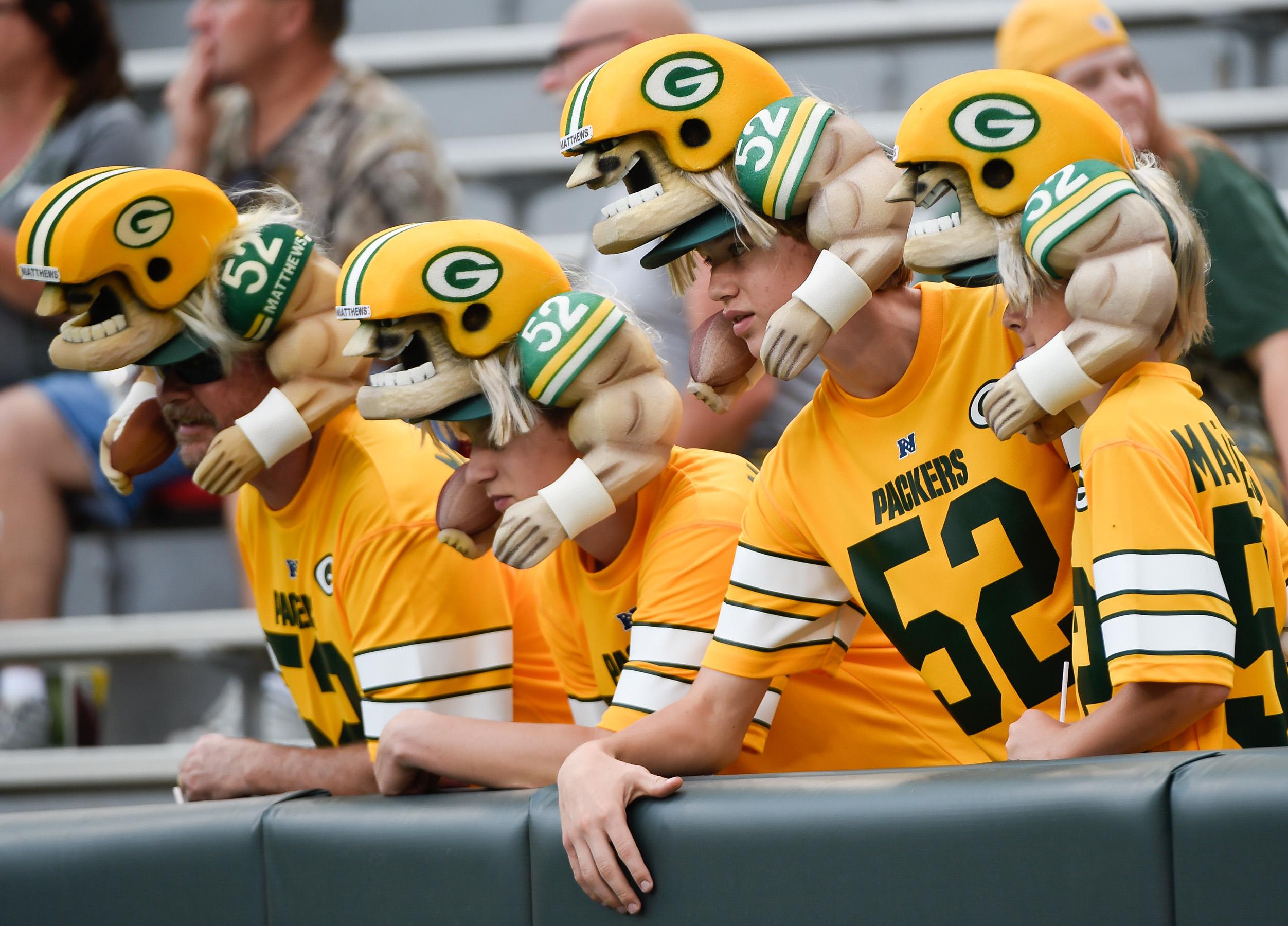 NFL: Preseason-Oakland Raiders at Green Bay Packers