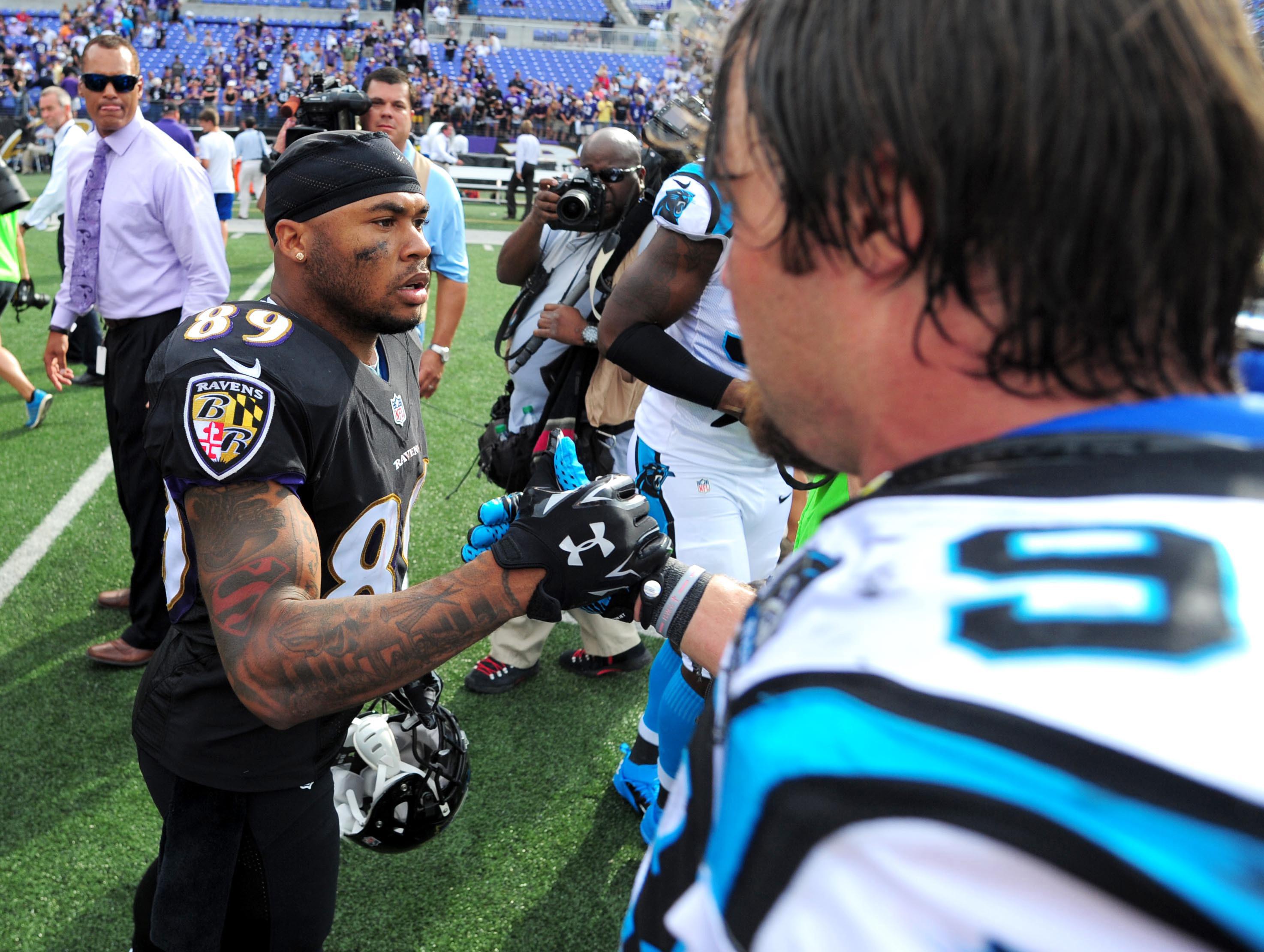 NFL: Carolina Panthers at Baltimore Ravens