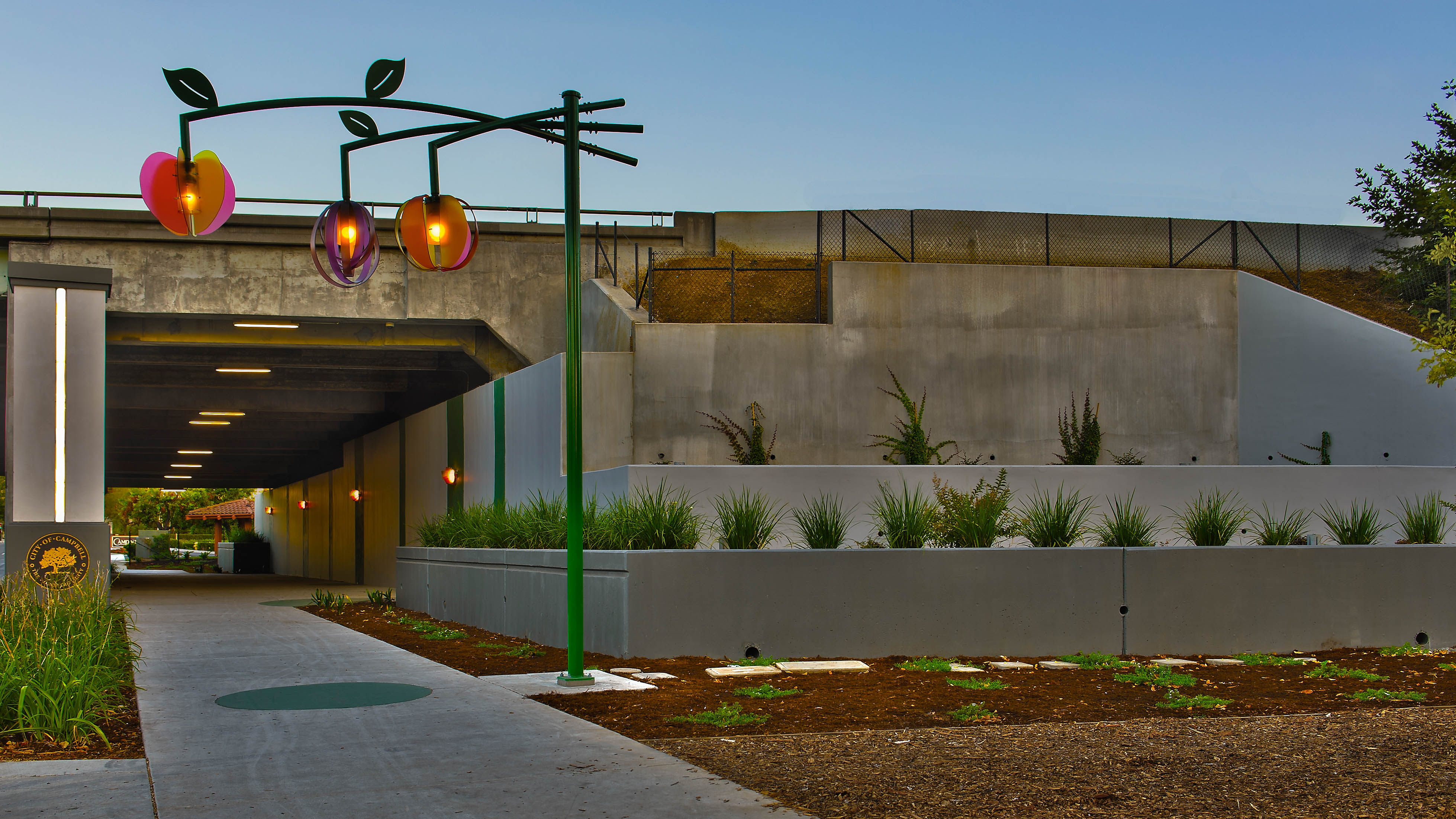 Now this is how you design a freeway underpass