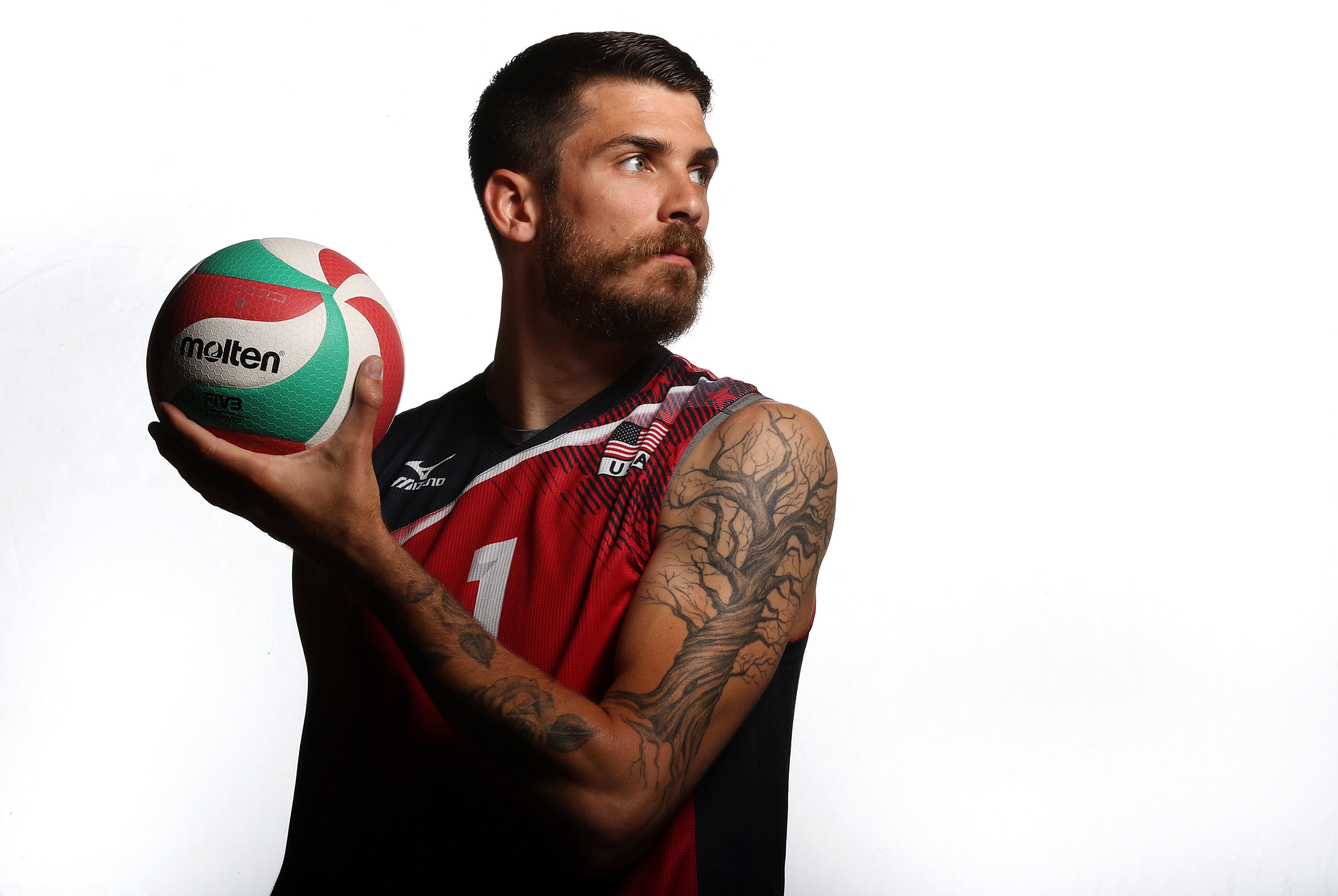 USA Indoor Volleyball Portrait Shoot