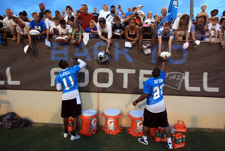 Carolina Panthers Training Camp