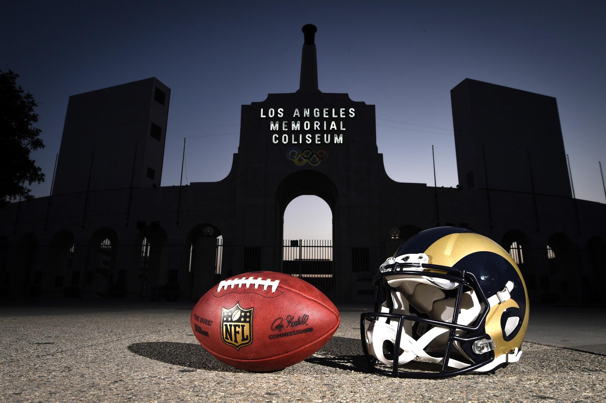 NFL: Los Angeles Coliseum Views