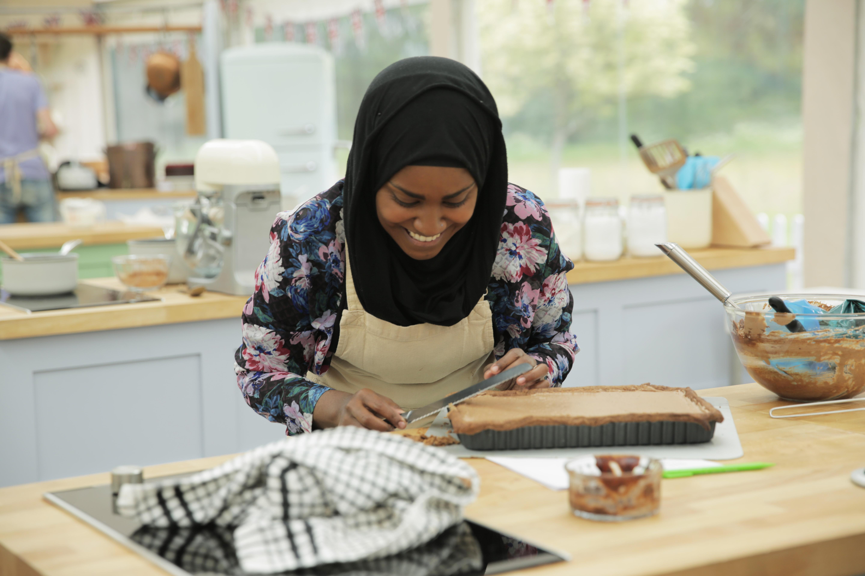 Nadiya Hussain during season three (six in the UK) of The Great British Baking Show
