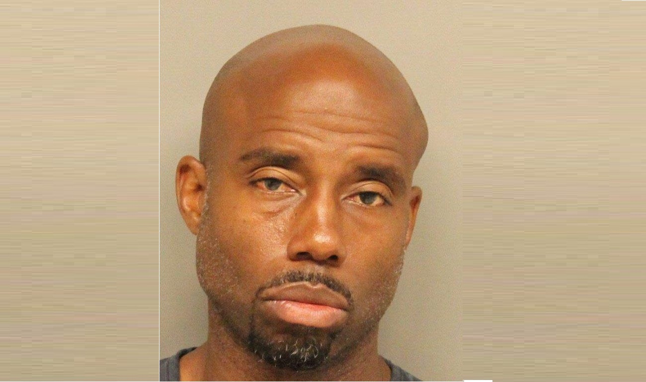 Keith Williams after being arrested on suspicion of DUI