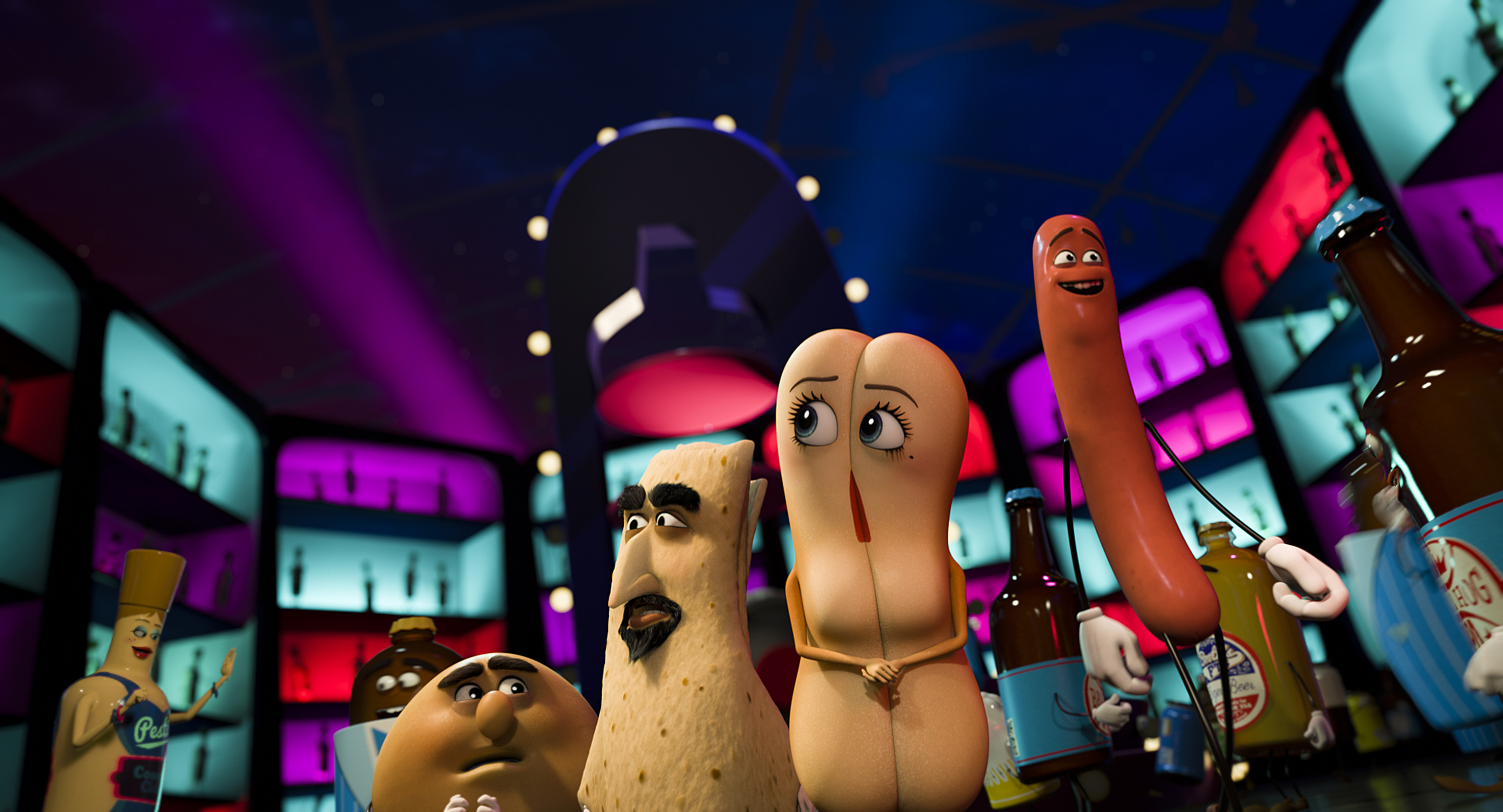 A still from 'Sausage Party'