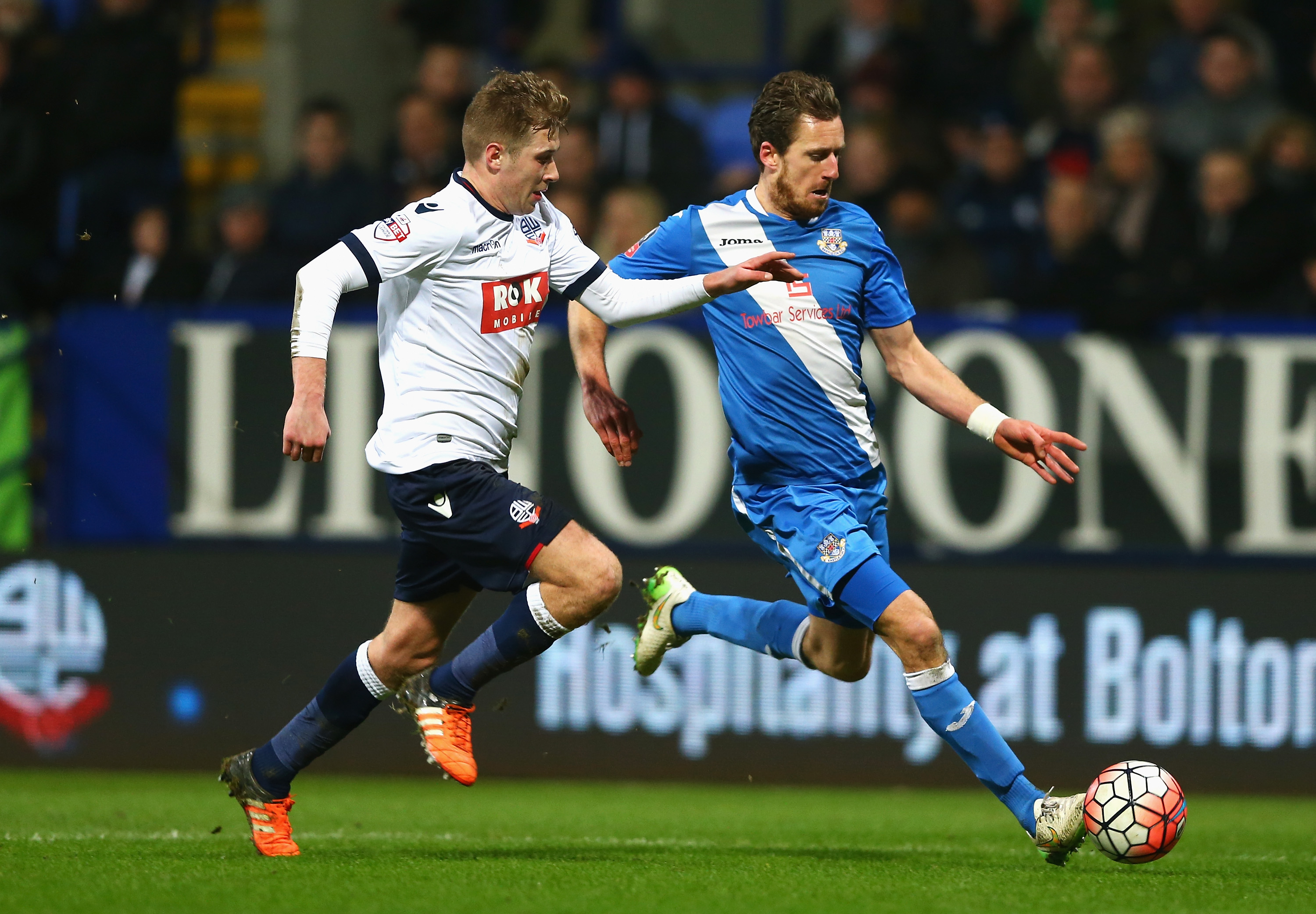Bolton Wanderers v Eastleigh - The Emirates FA Cup Third Round Replay
