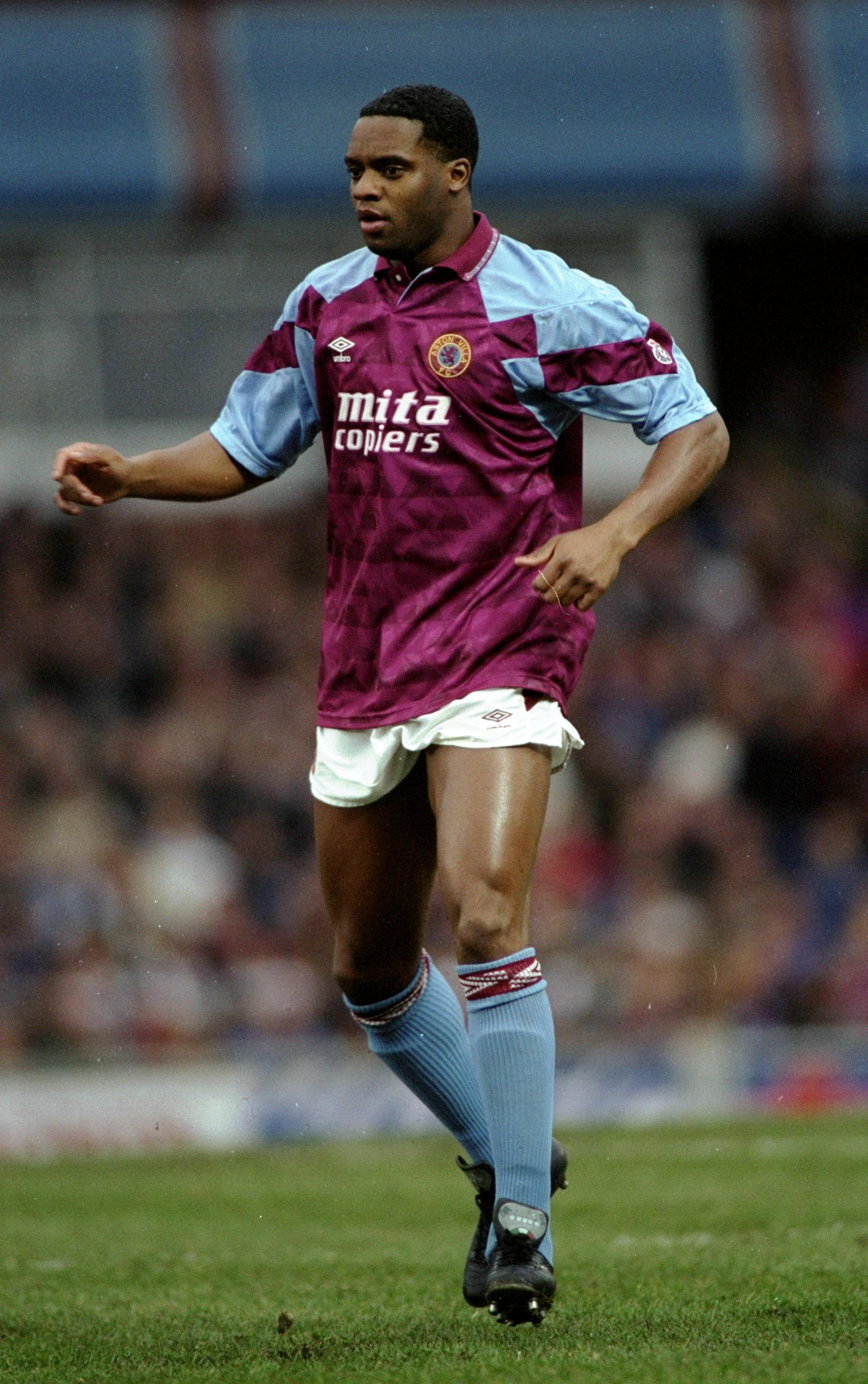 Dalian Atkinson of Aston Villa