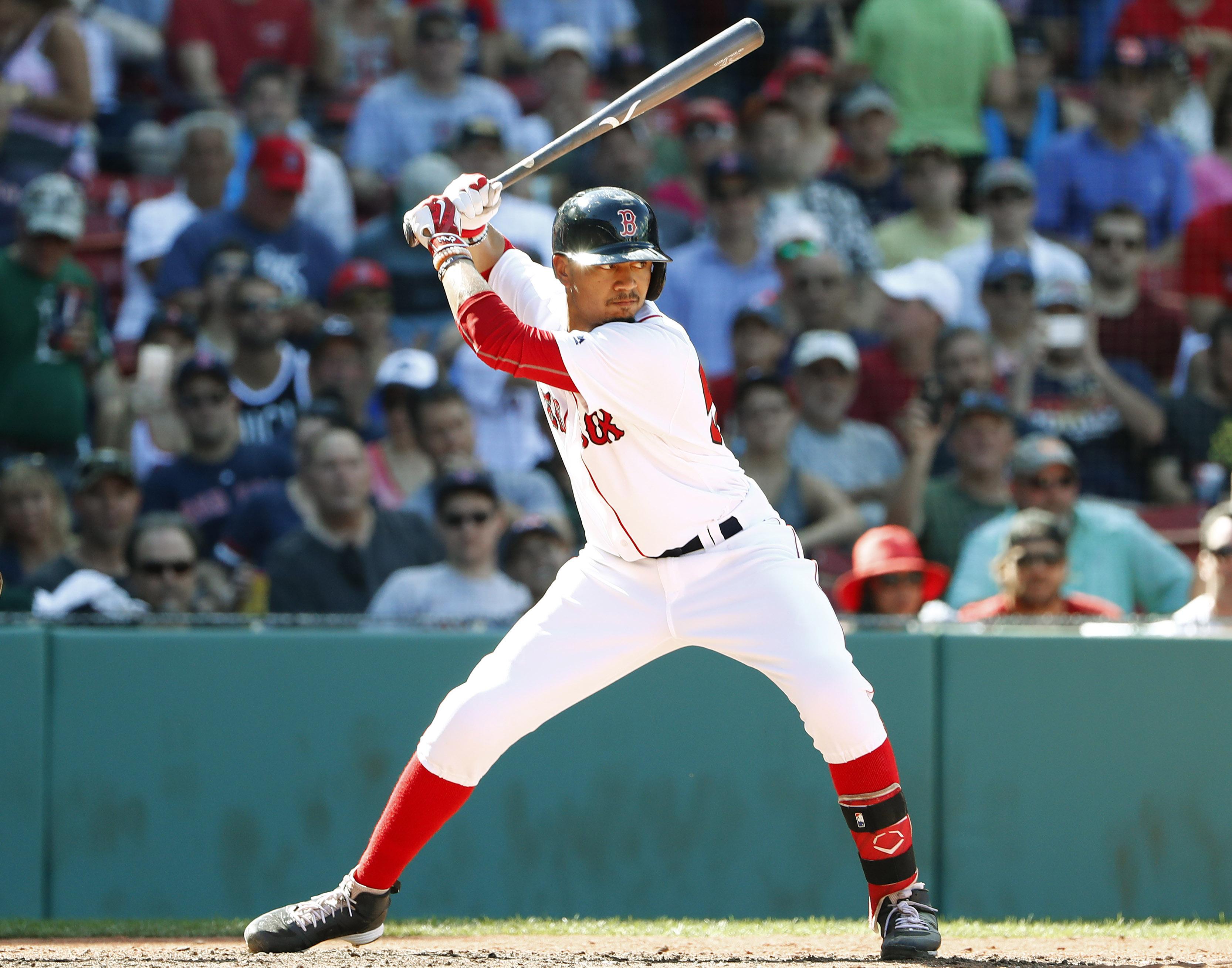 MLB: Arizona Diamondbacks at Boston Red Sox